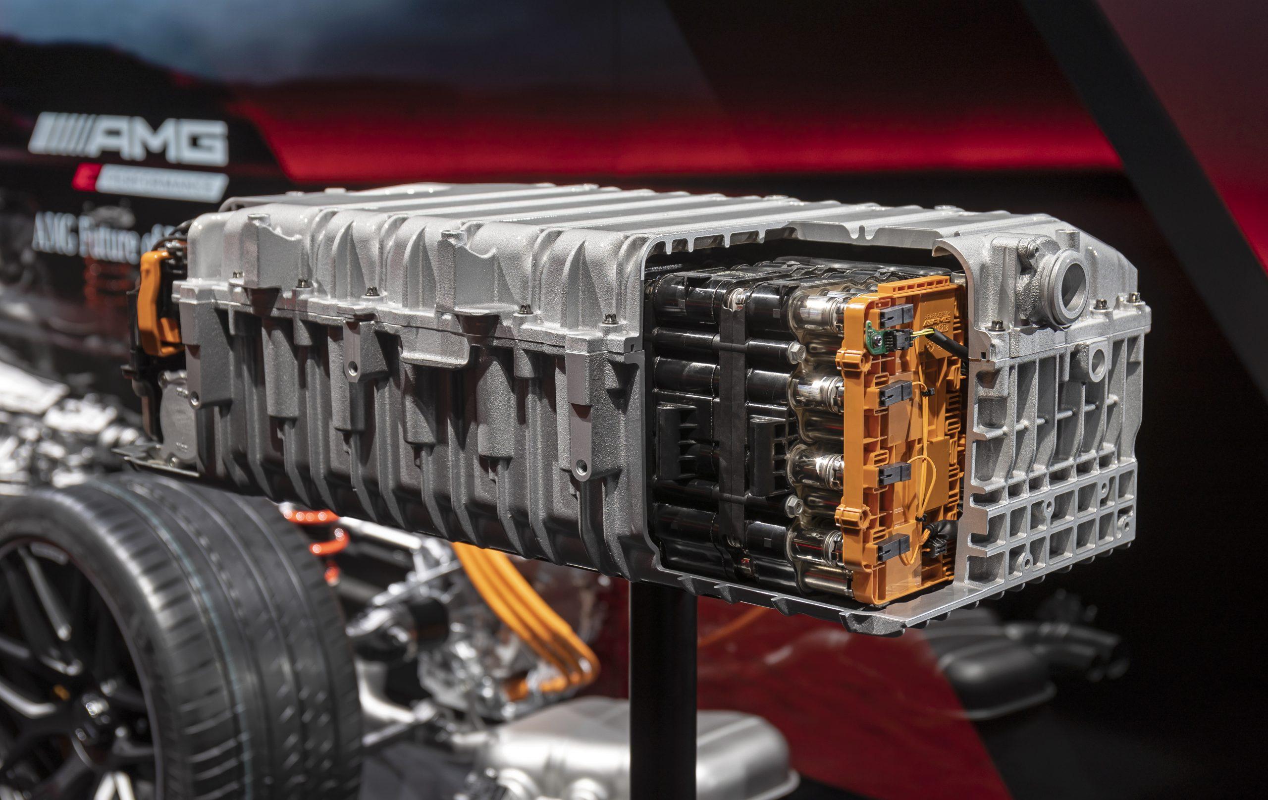 (geen solid-state accu's) batterij mercedes hybride