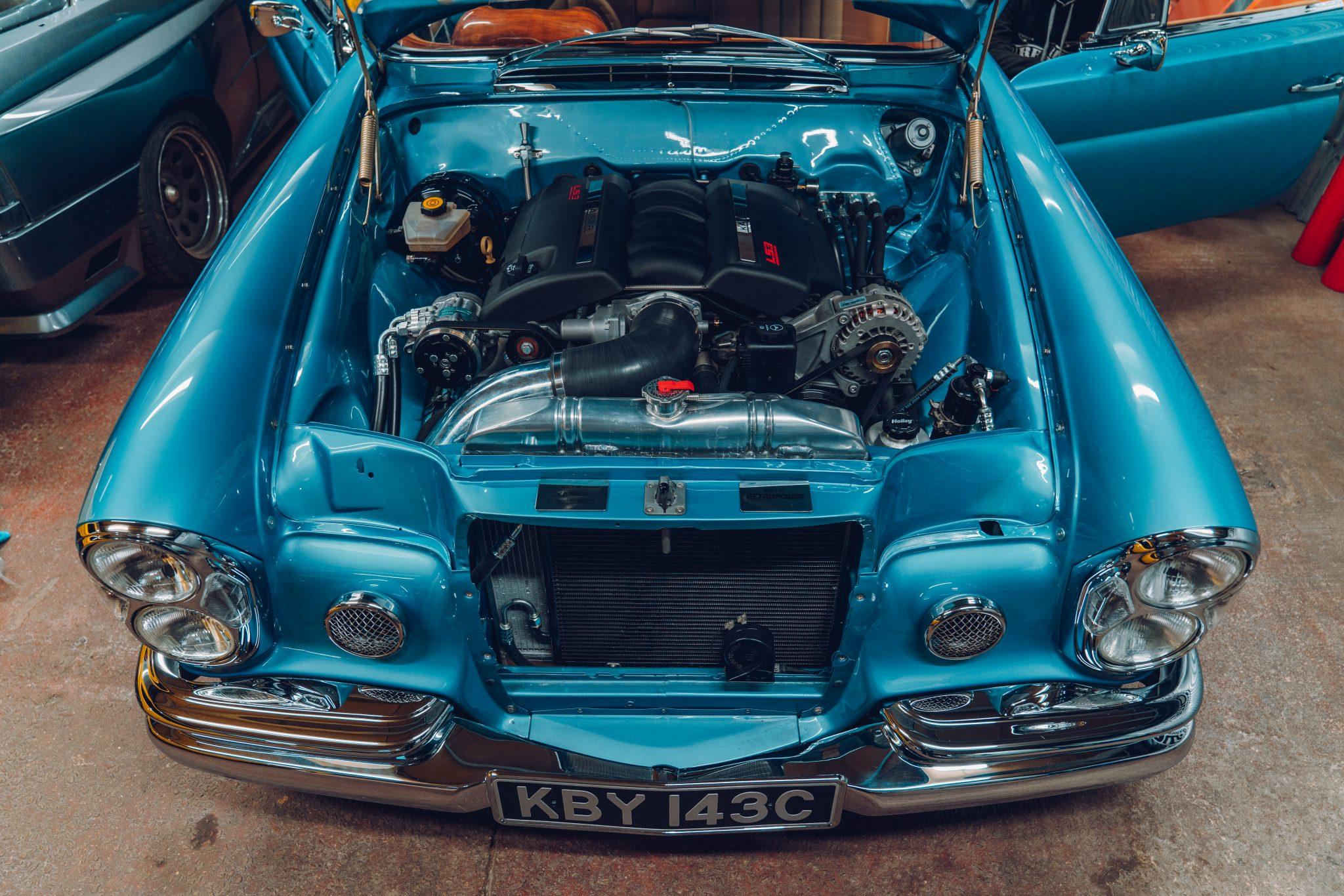 Mercedes W108 LS V8