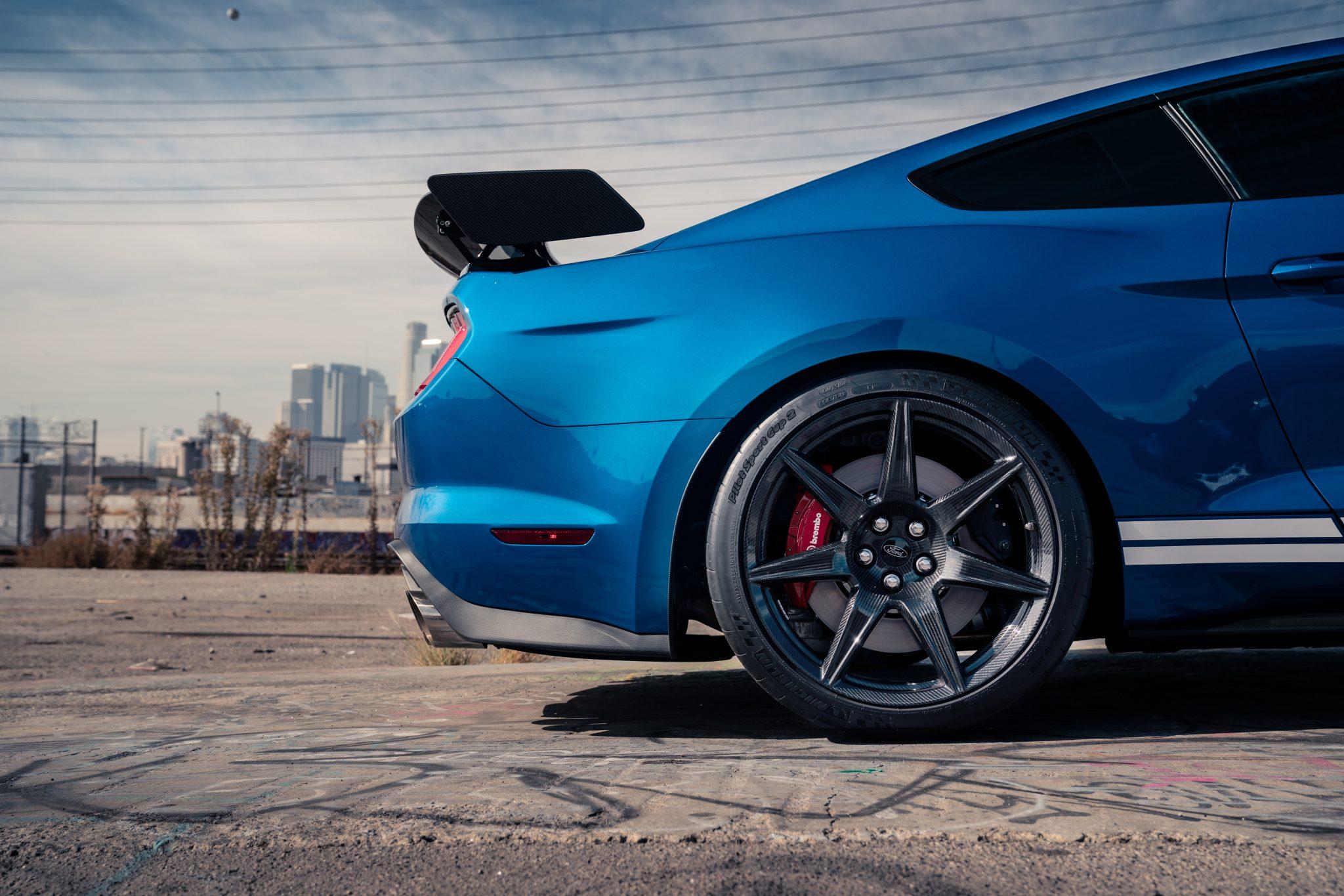 Koolstofvezel velgen Ford Mustang Shelby GT500