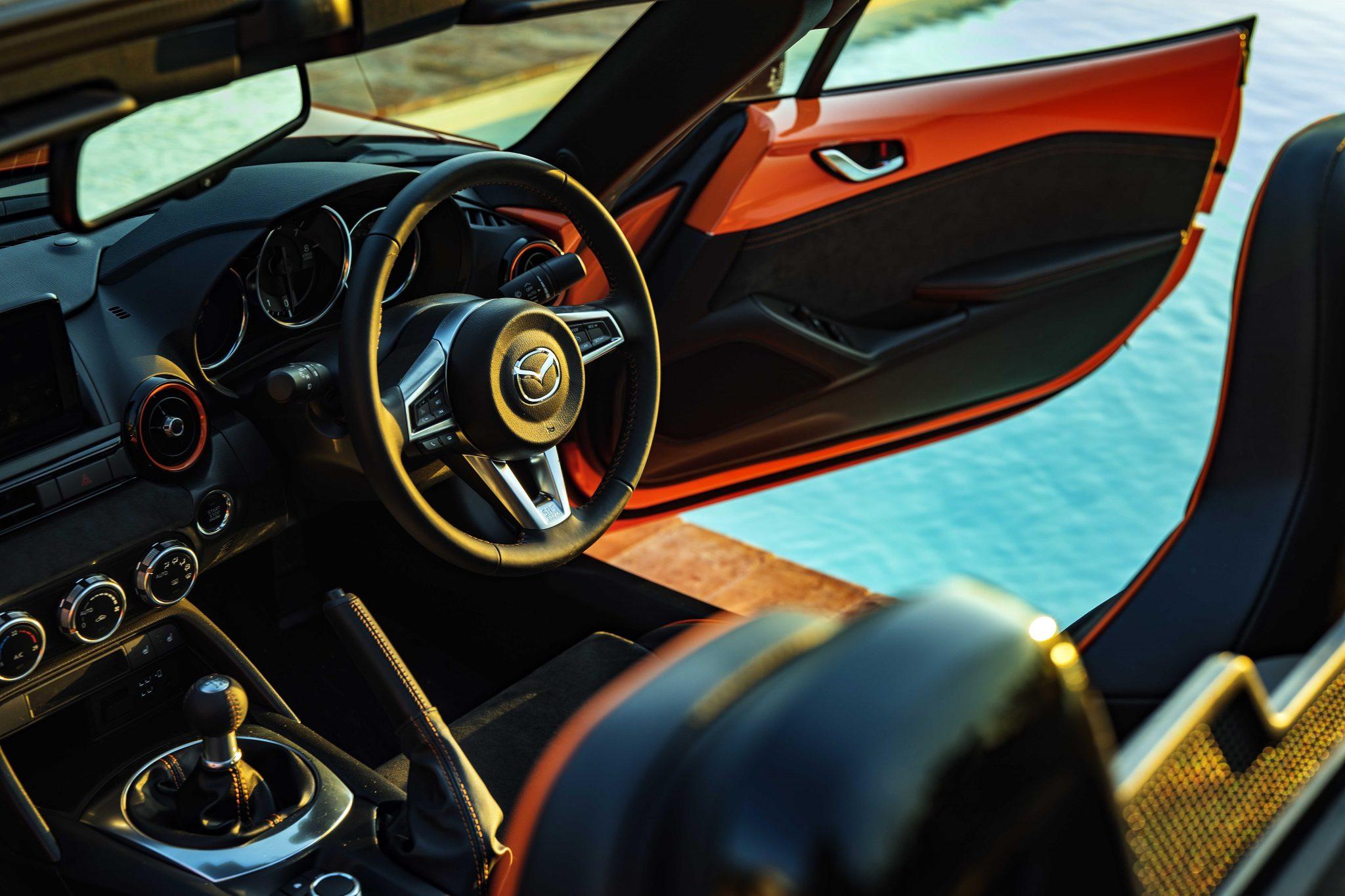 Mazda MX-5 Anniversary interieur