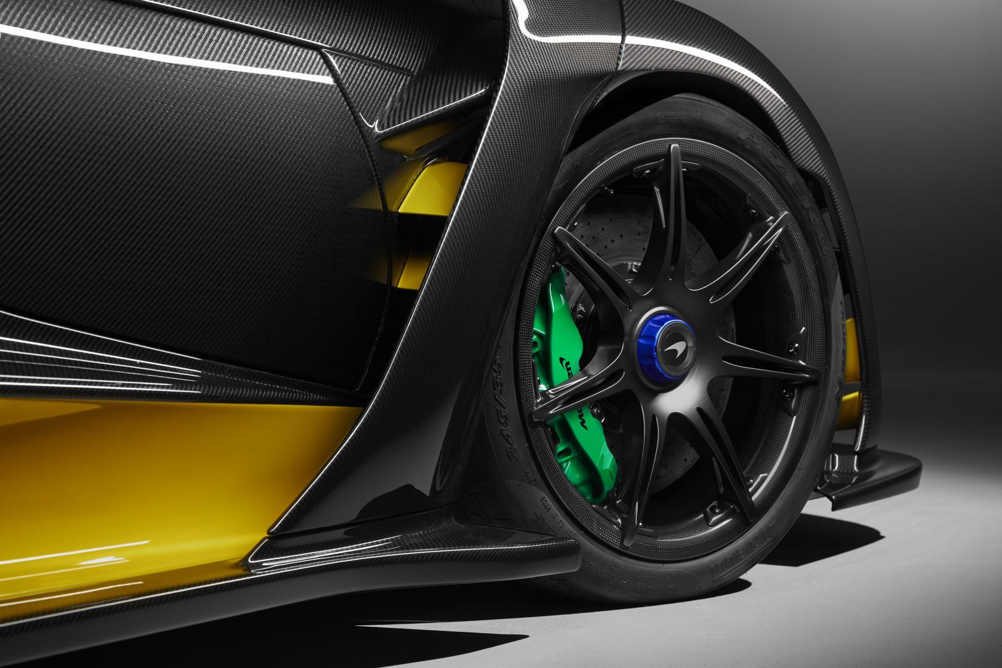 McLaren Senna Carbon Theme koolstofvezel wielen