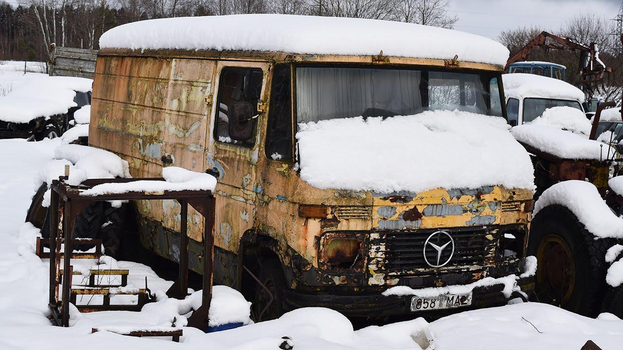 Mercedes-diesel na 12 jaar gestart
