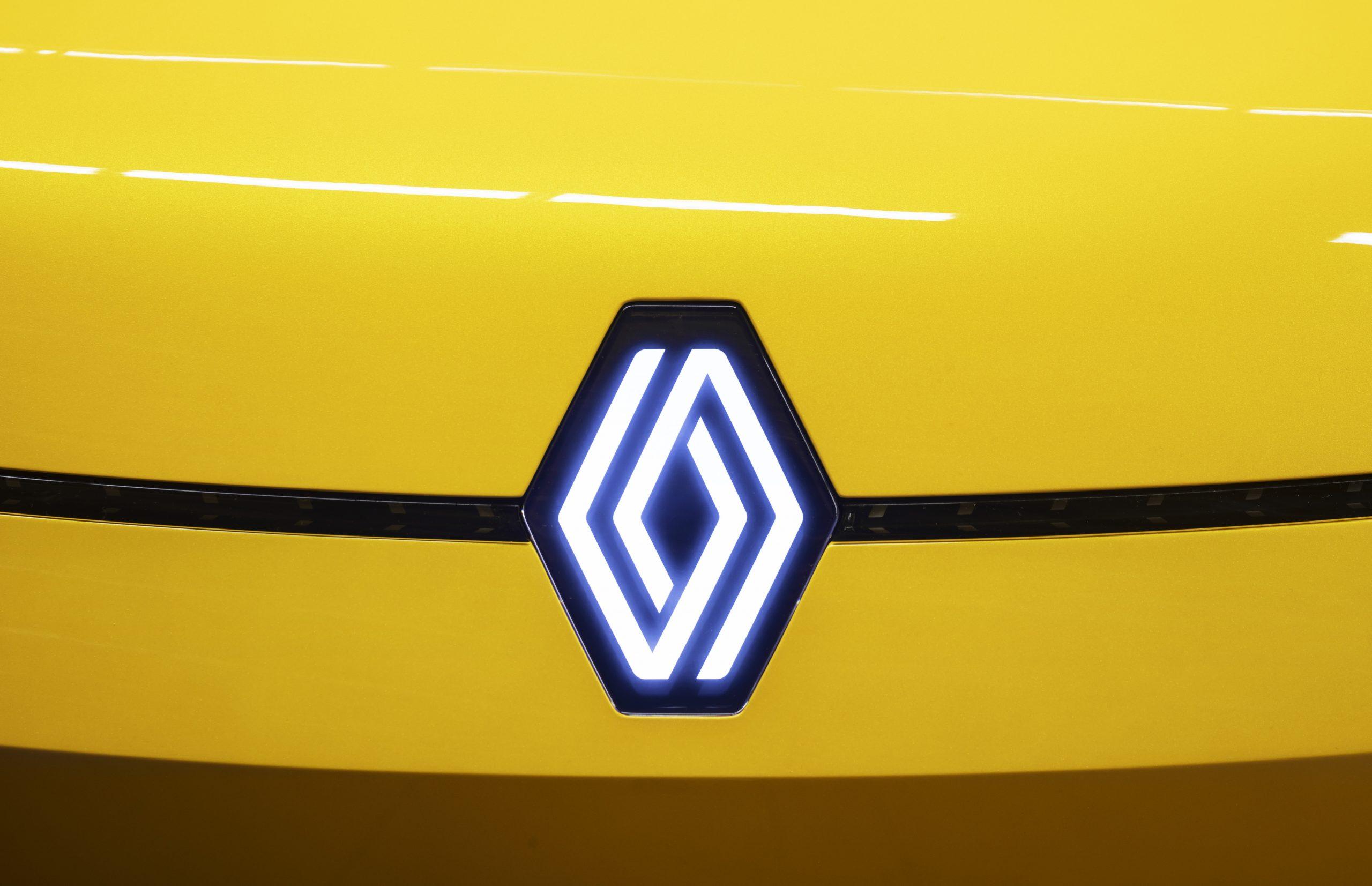nieuwe logo van renault (2021)