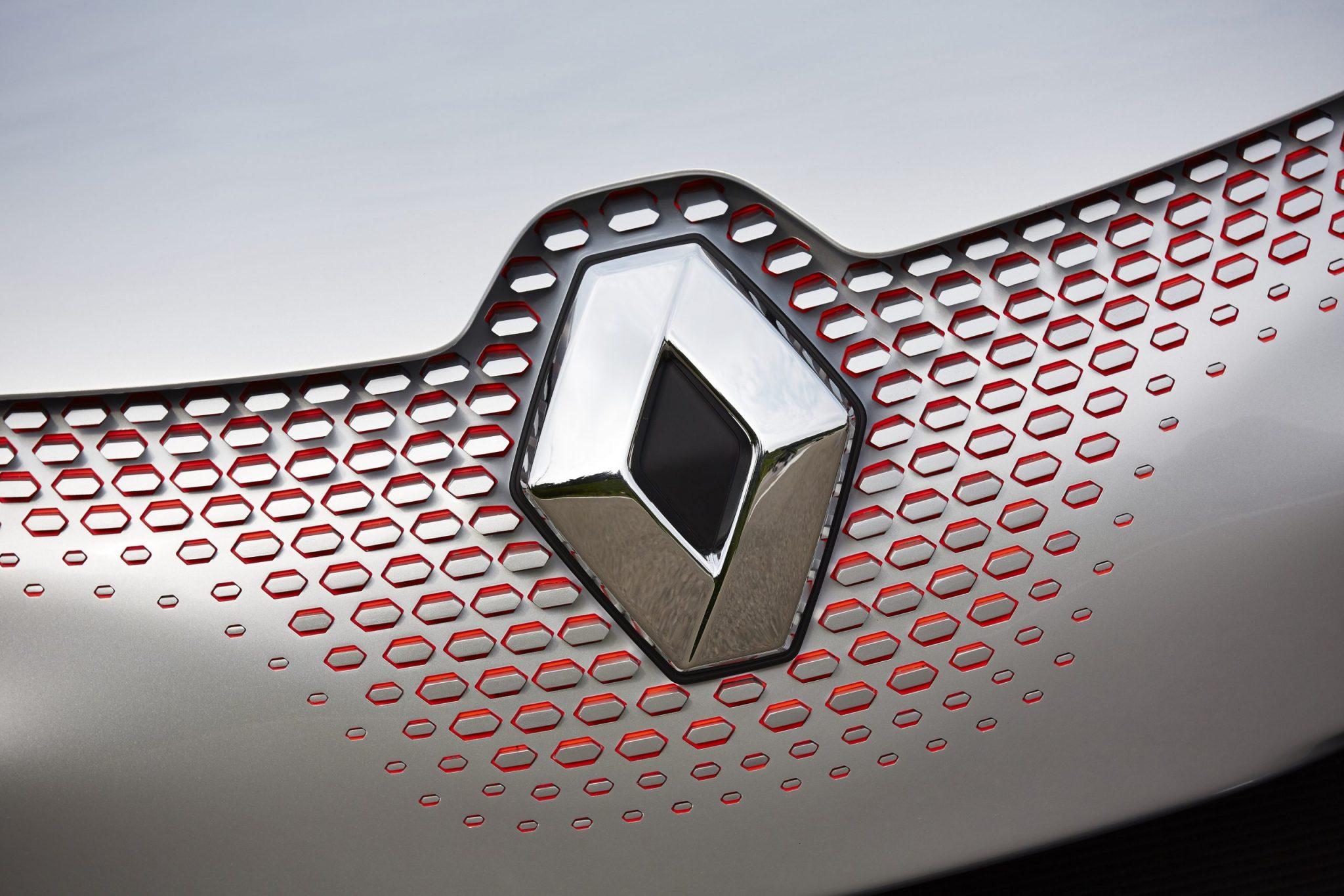 Het huidige logo van Renault (2015)