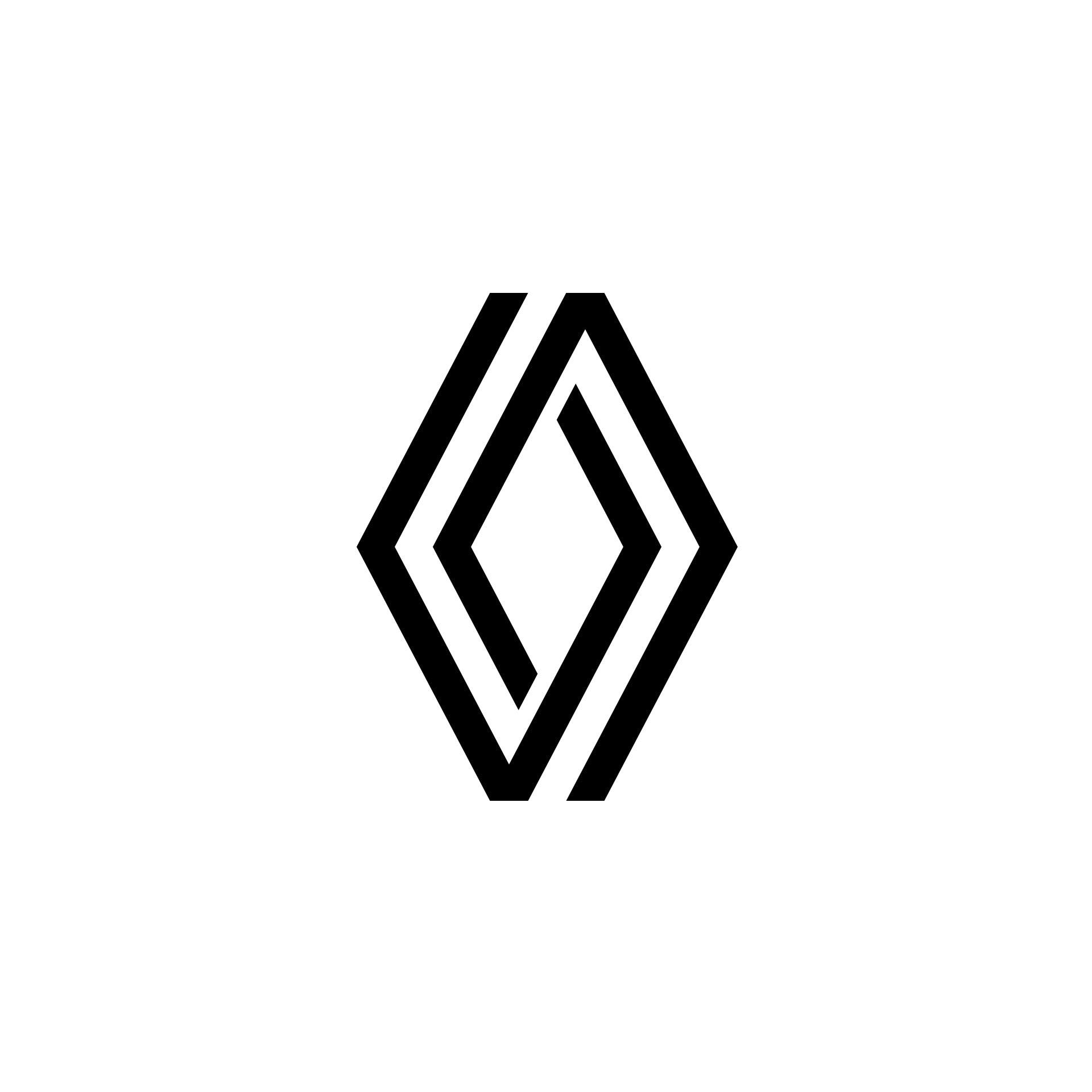 Het nieuwe logo van Renault (2021)