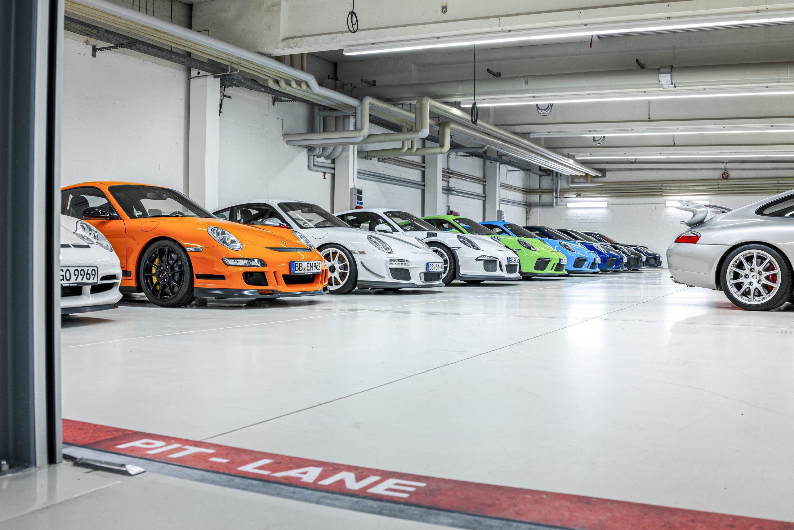 Porsche-hemel
