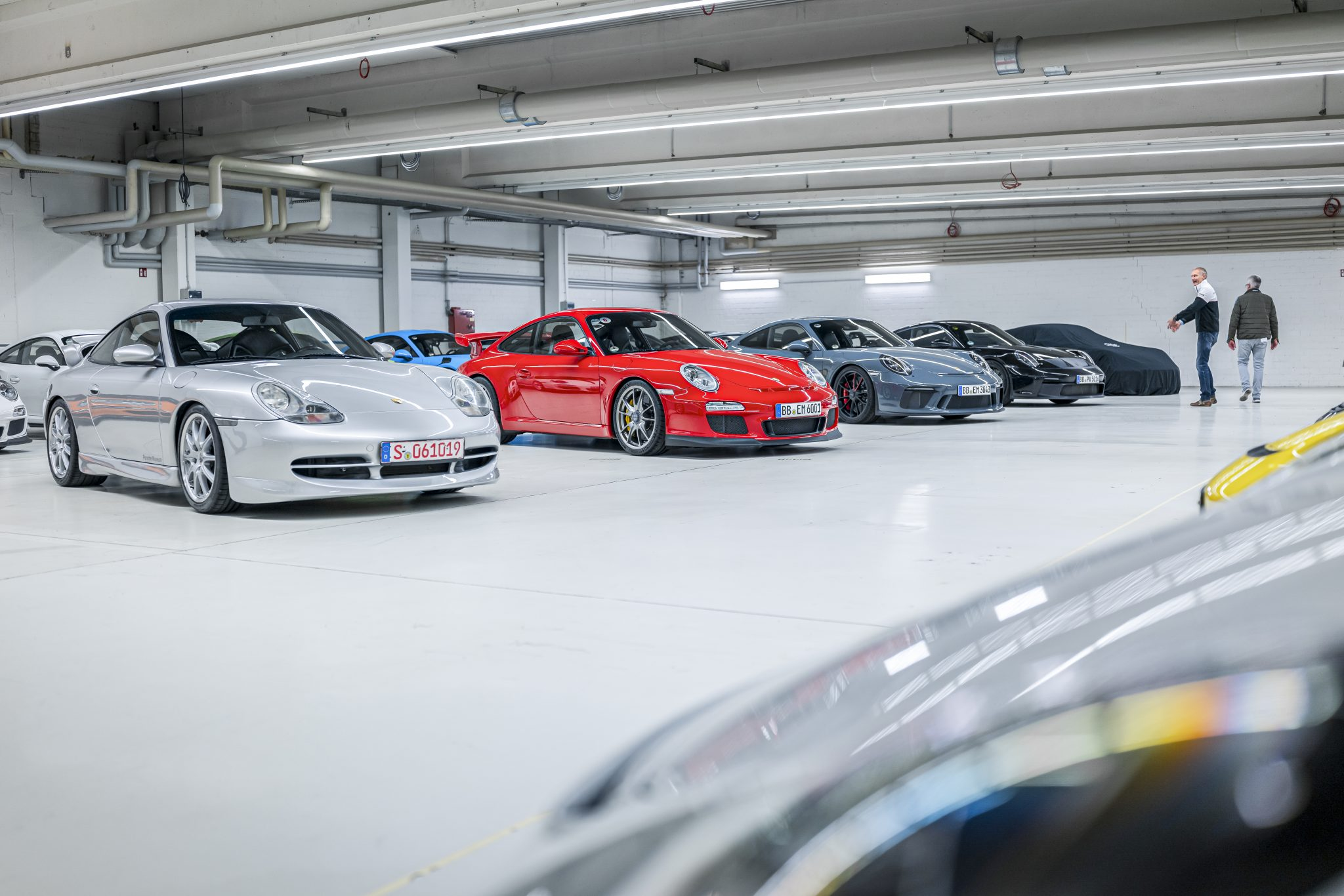 Porsche 911 GT3 996 en 997