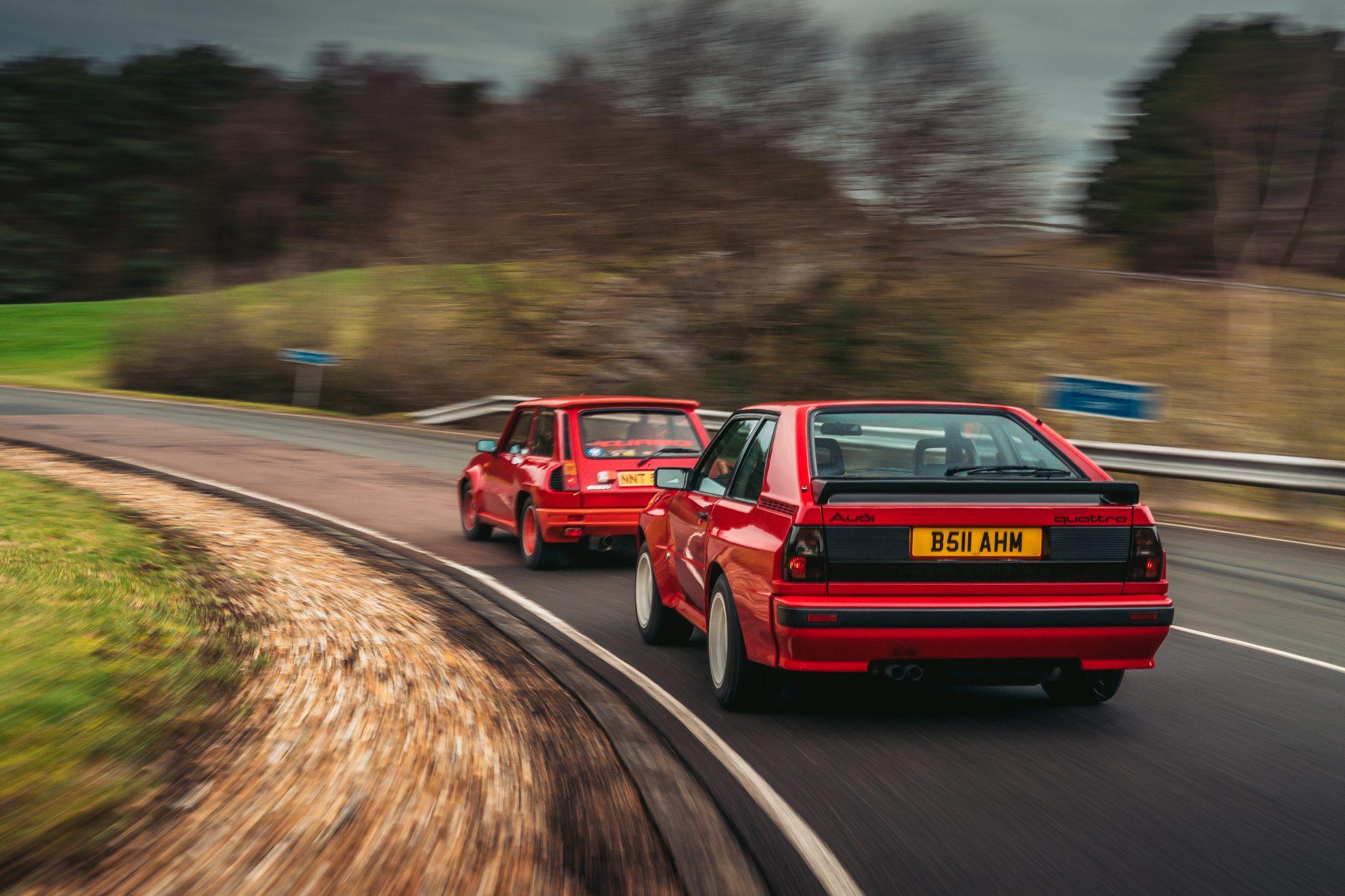 Renault 5 Turbo vs Audi Quattro