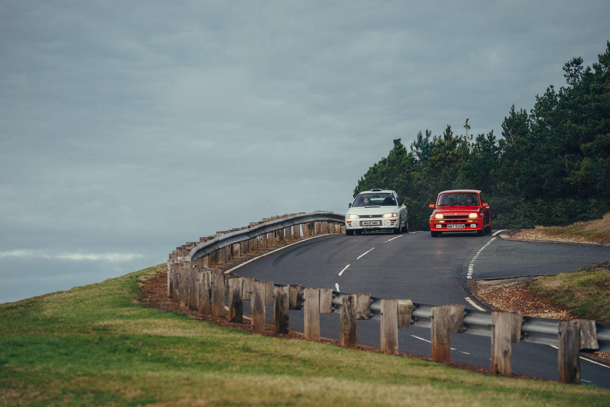 Subaru Impreza WRX STI Type RA vs Renault 5 Turbo