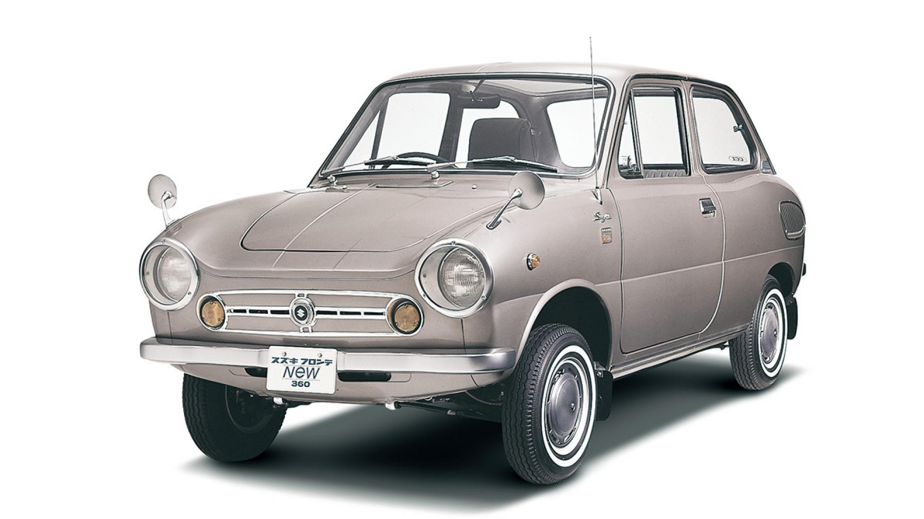 Suzuki Fronte 360 uit 1967