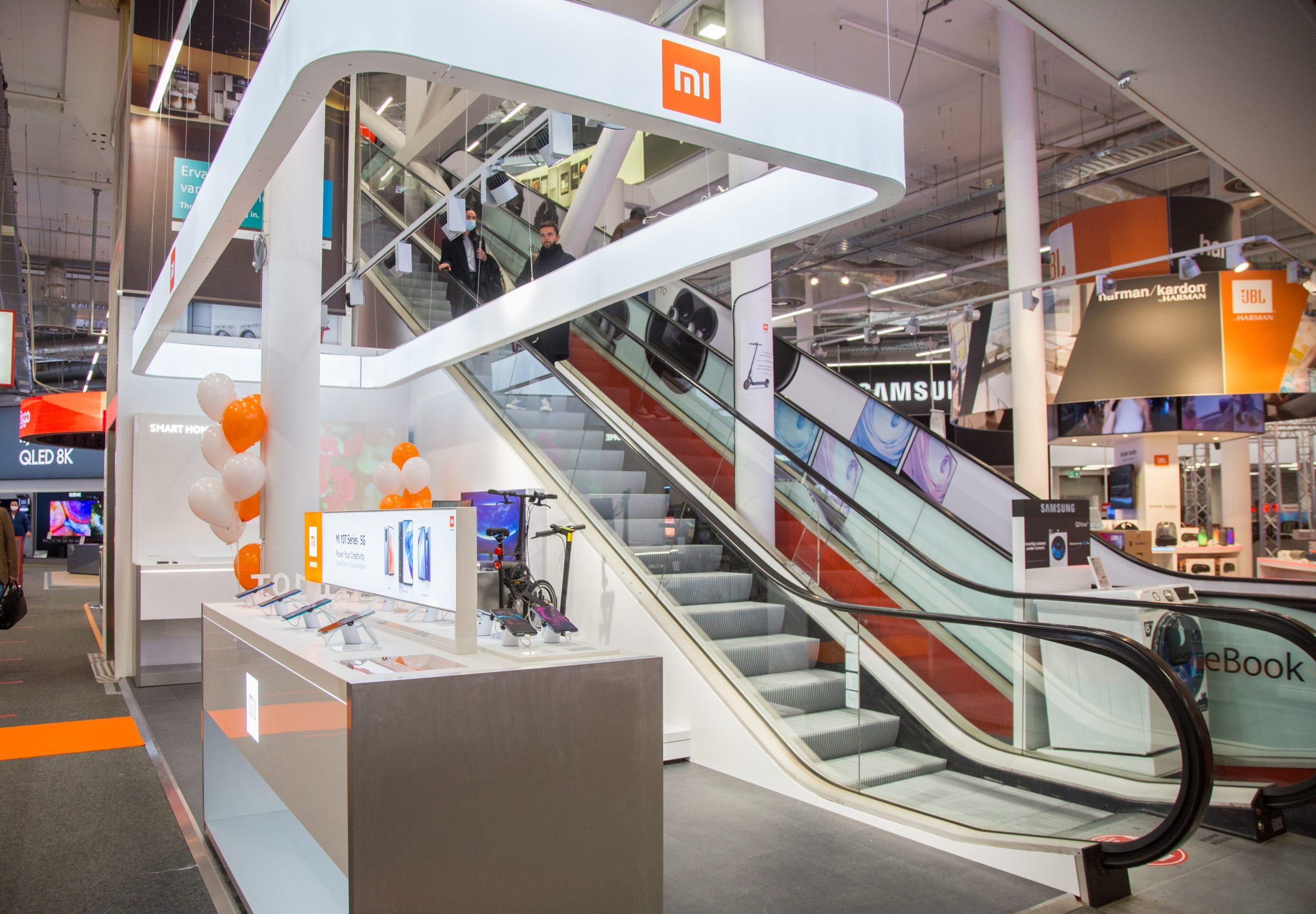 Xiaomi shop-in-shop Media Markt
