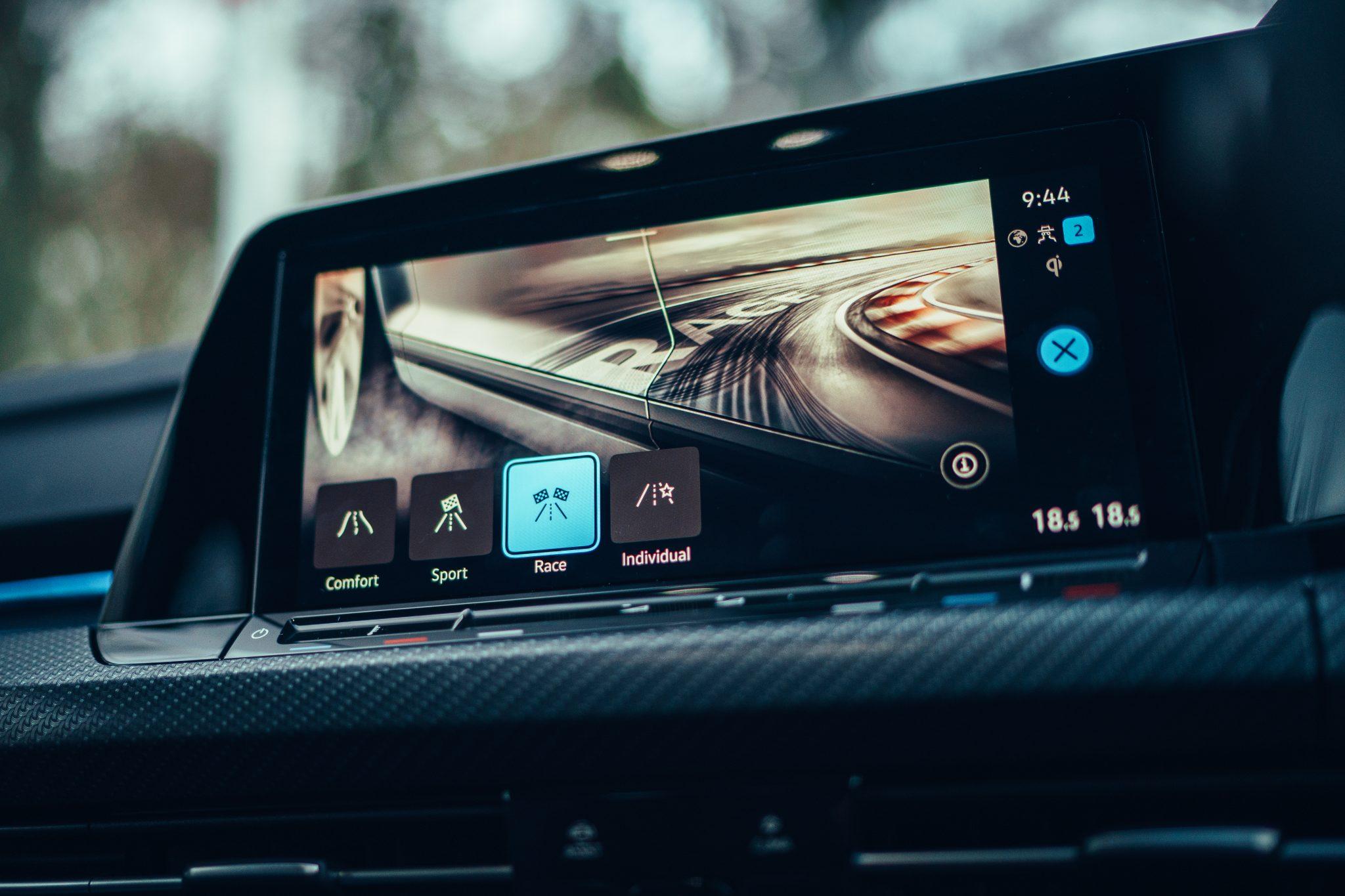 Scherm Volkswagen GOlf 8 R 2021