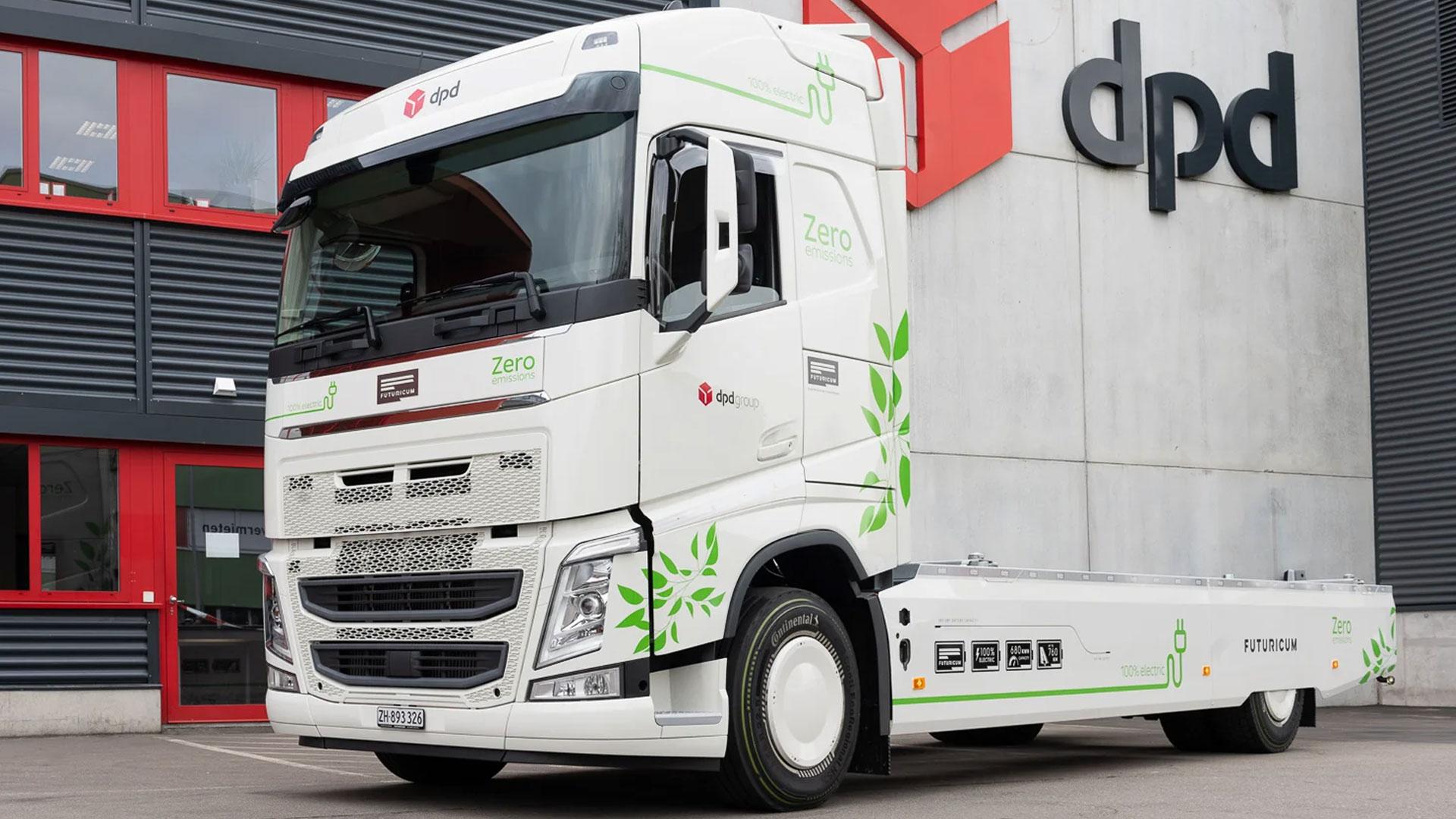 Elektrische vrachtwagen Futuricum