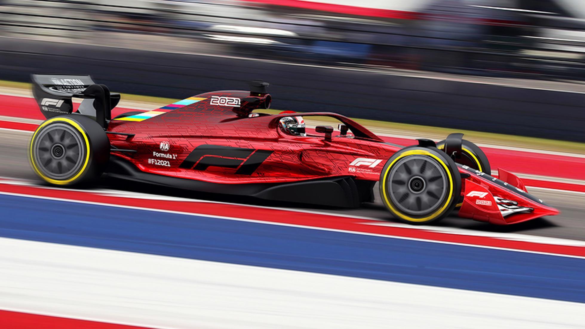 F1-auto voor 2022