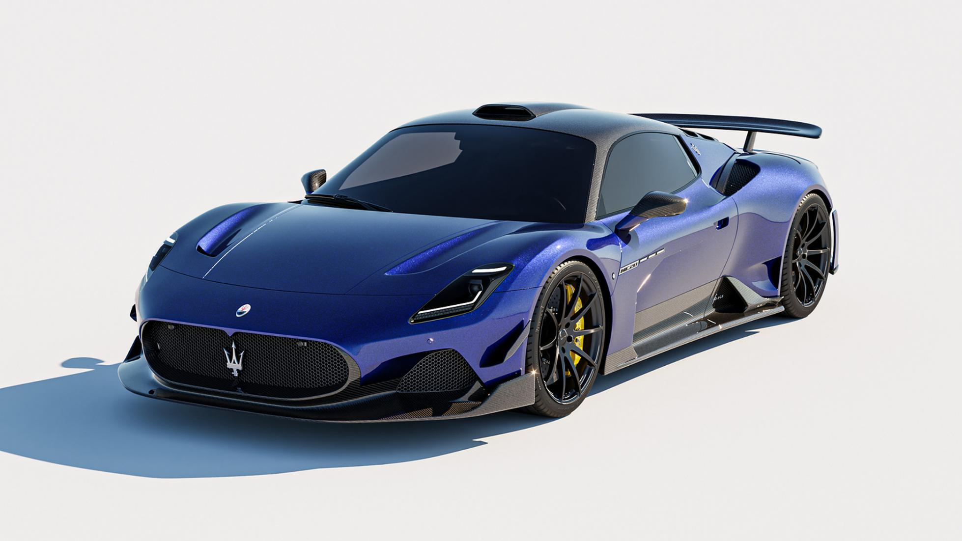 ARIA Maserati MC20