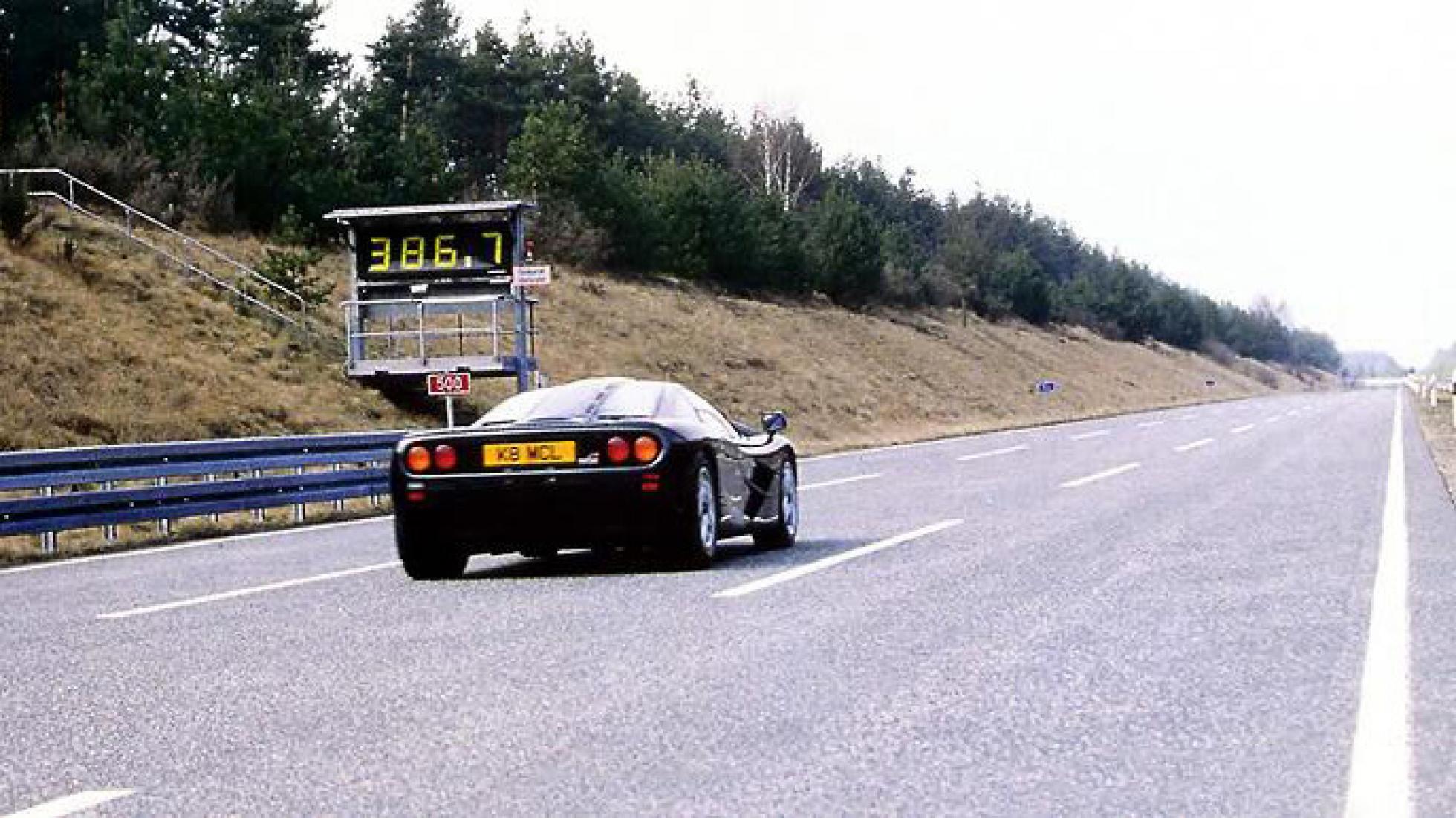 McLaren F1 op Ehra Lessien