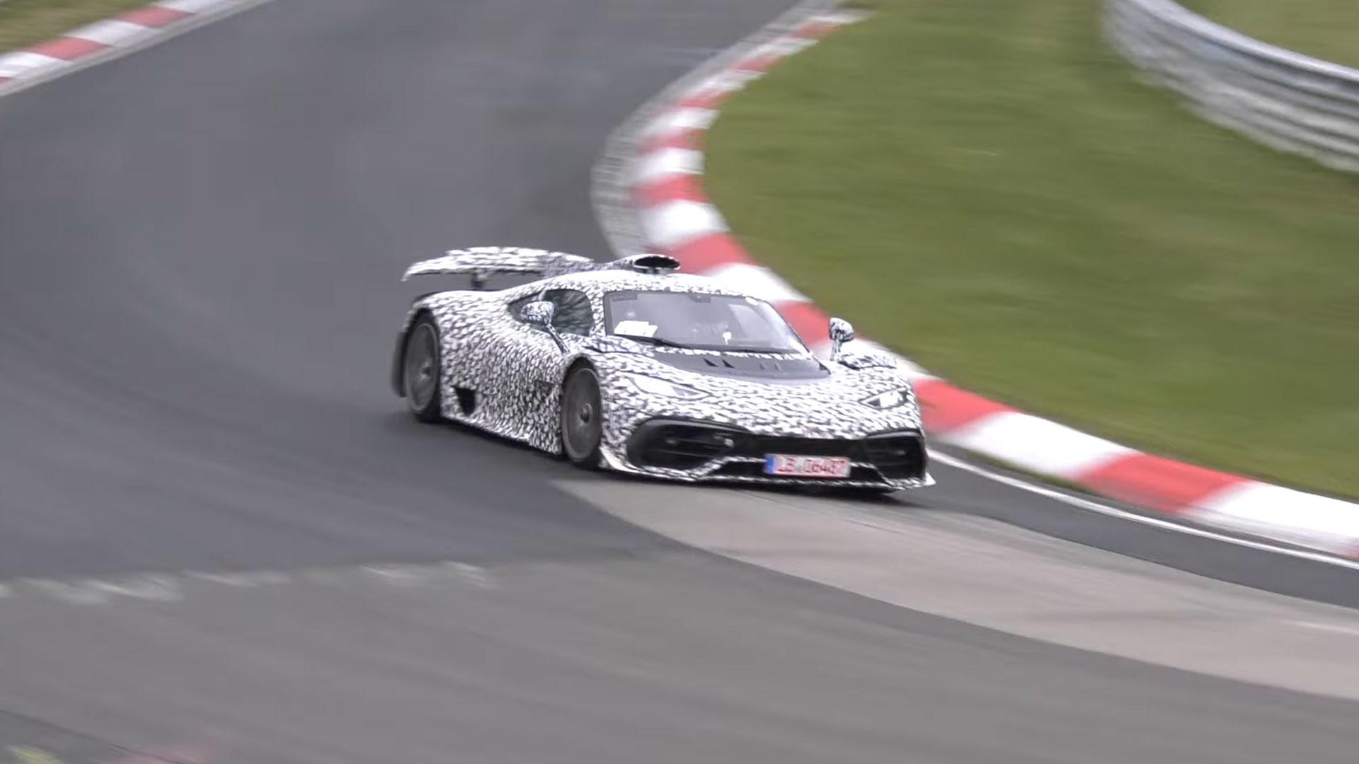 Mercedes-AMG One op de Nürburgring