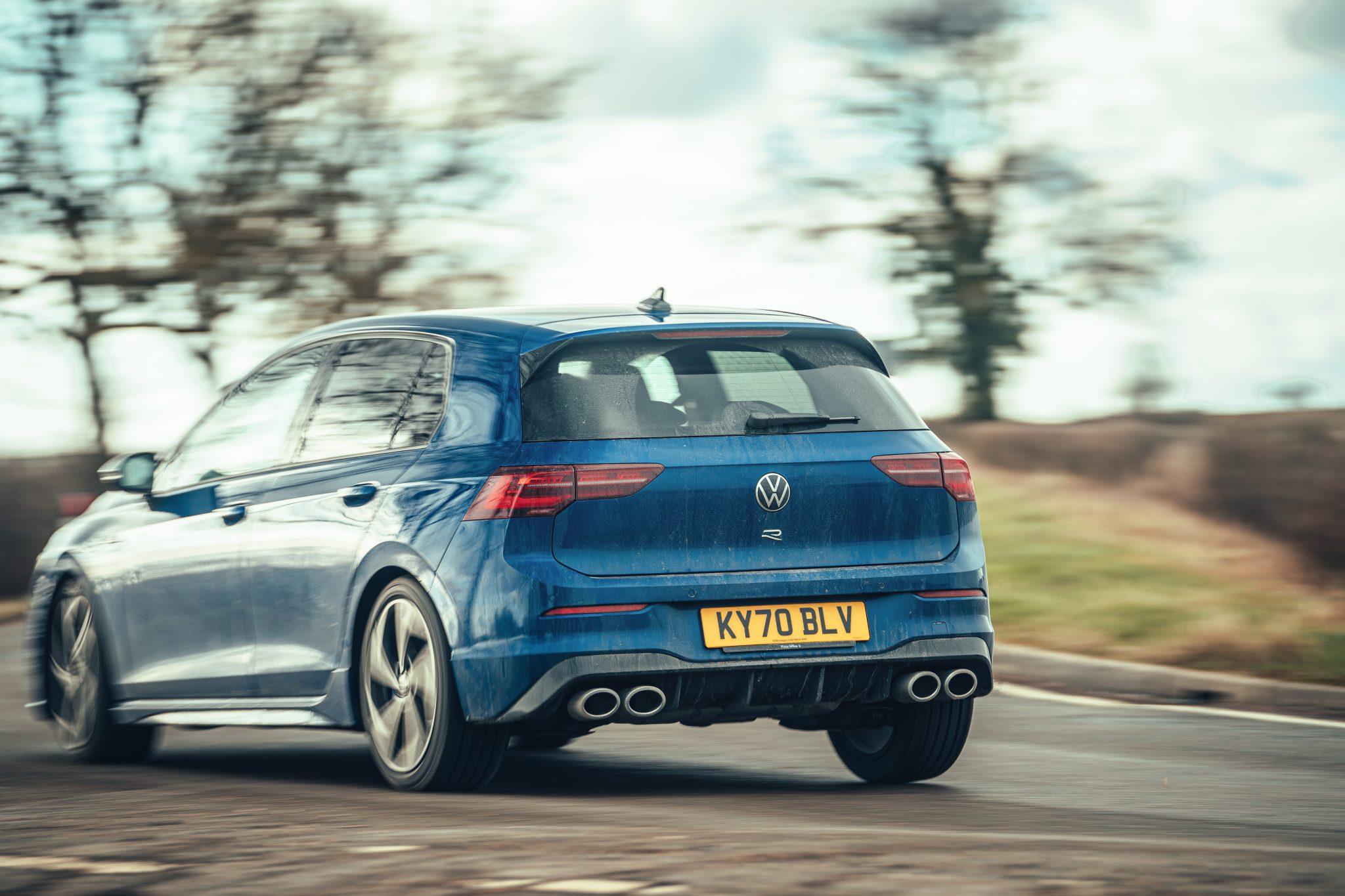 Volkswagen Golf 8 R (2021) achterkant