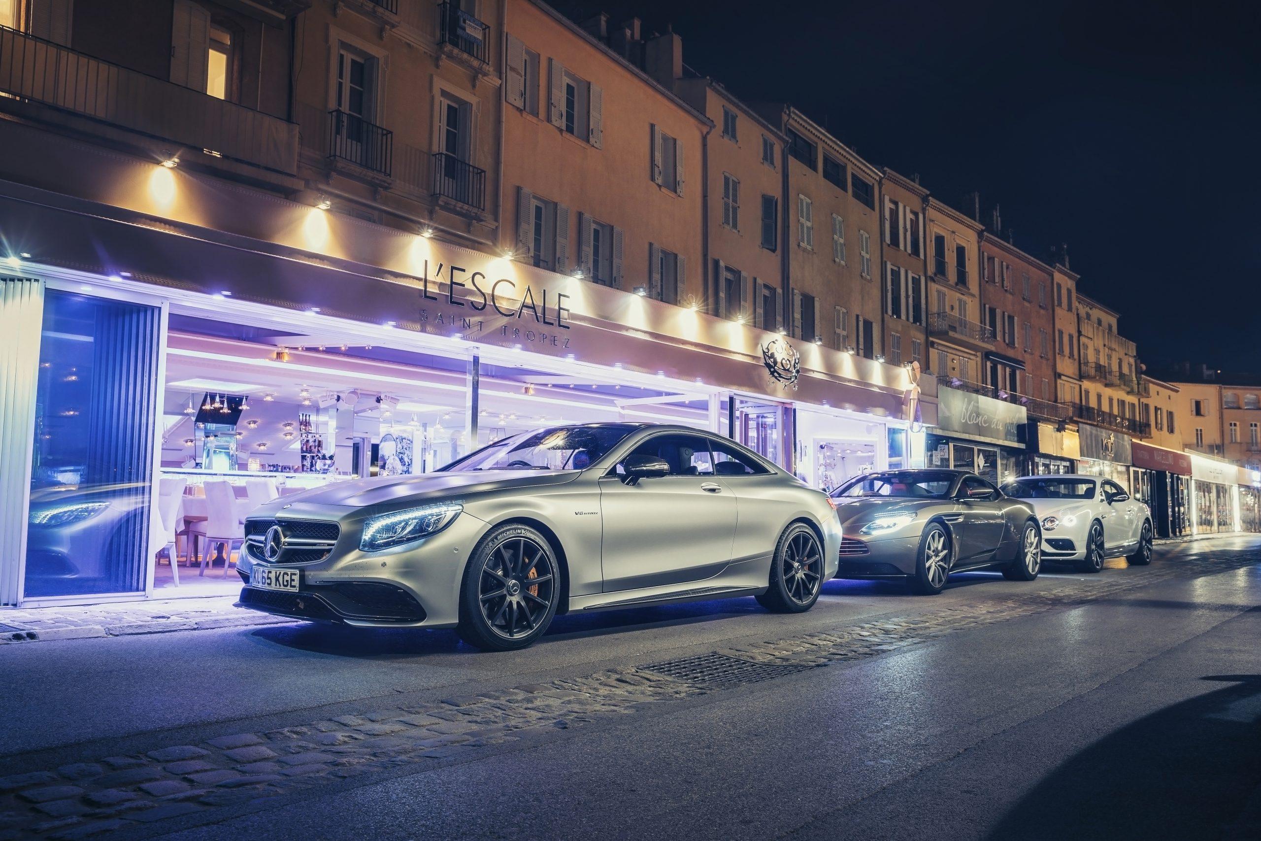 Feitjes over koplampen: Mercedes S-klasse