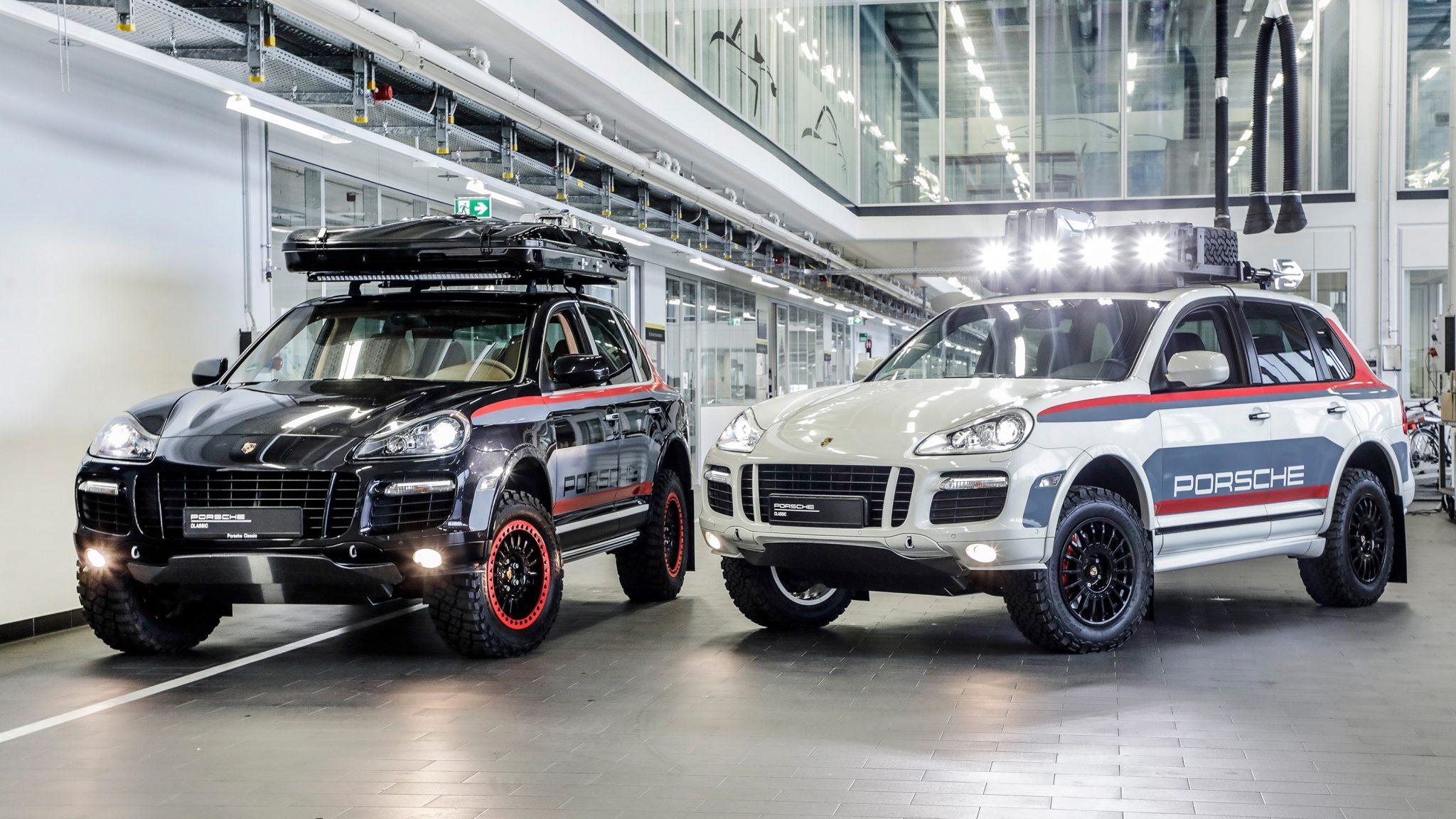 Porsche Cayenne 1e generatie Porsche tequipment