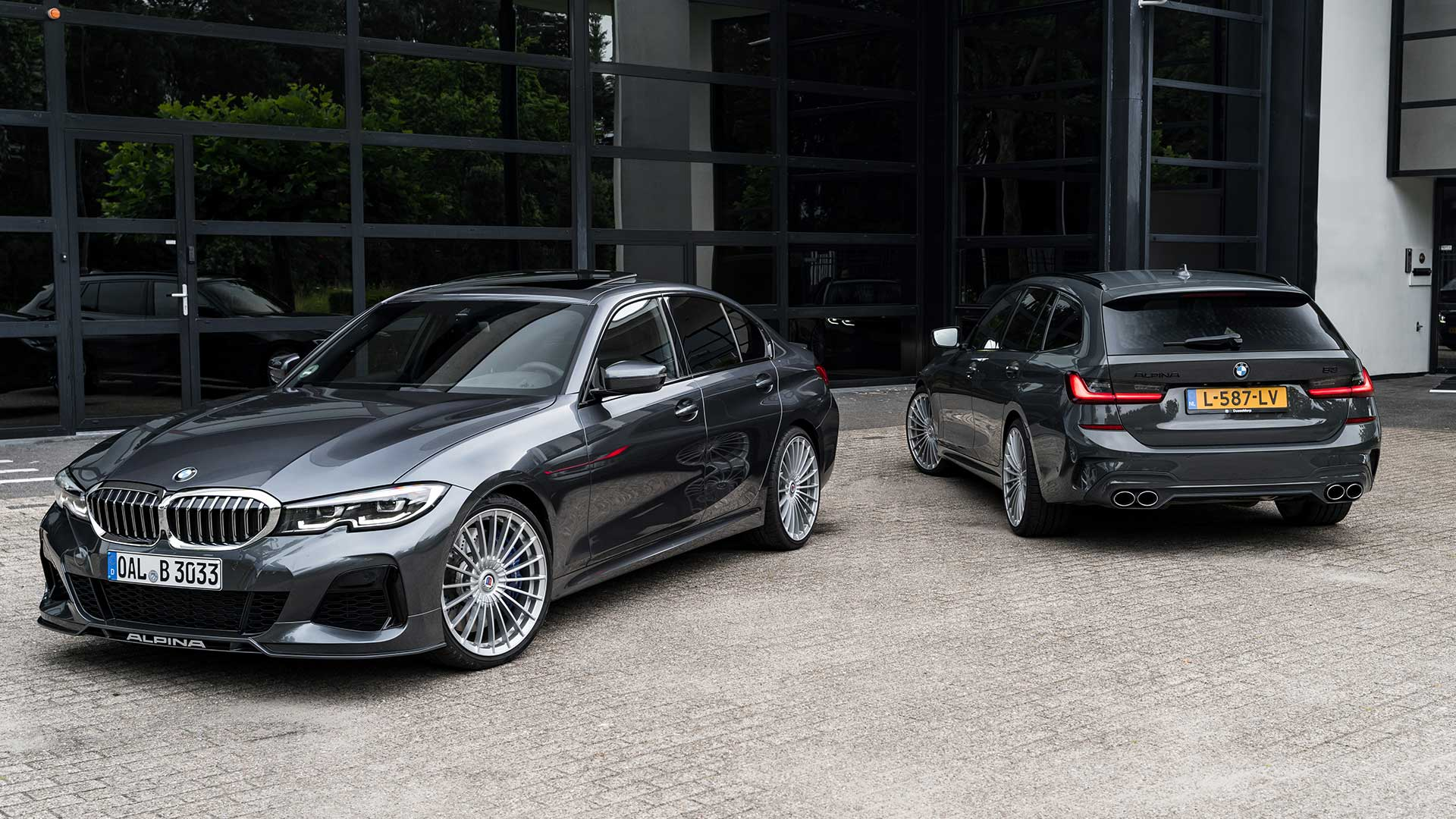 Alpina B3 Touring en B3 sedan in Nederland (BMW)