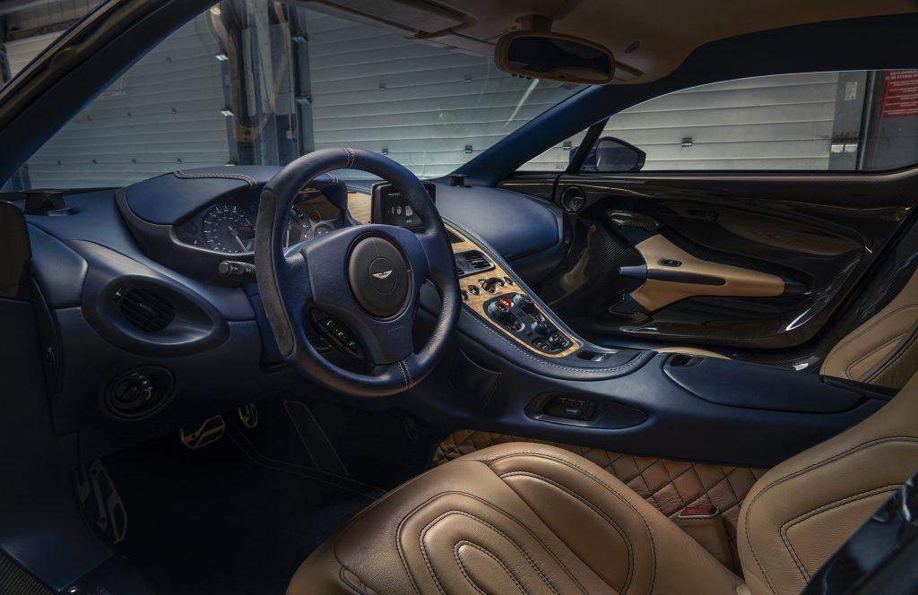 Interieur Aston Martin One 77 motor