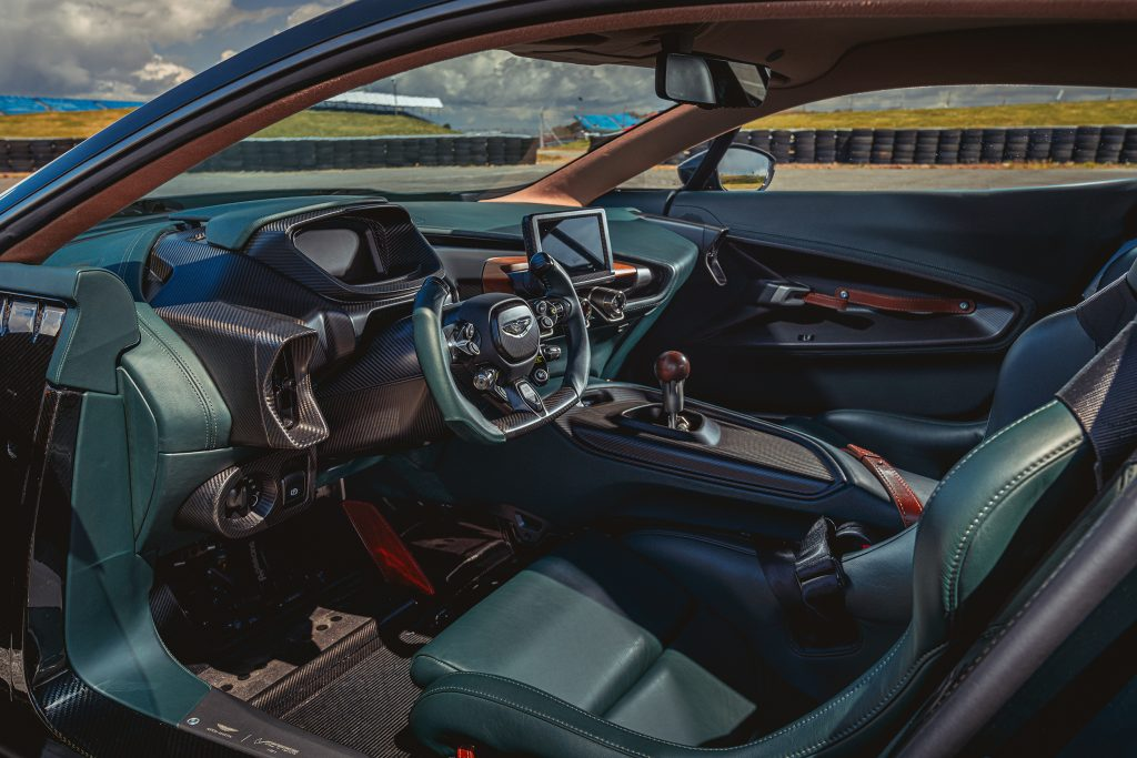 Interieur Aston Martin Victor