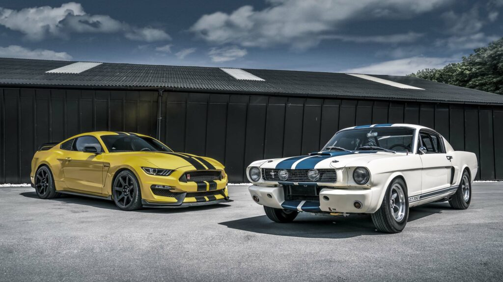 racestrepen Ford Mustang Shelby GT350