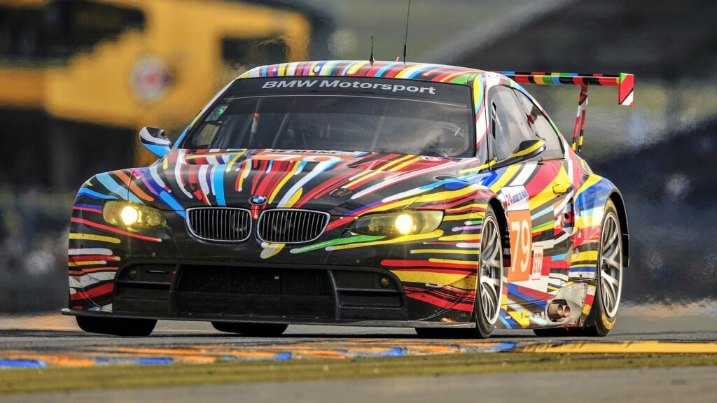 Jeff Koon Art Car BMW