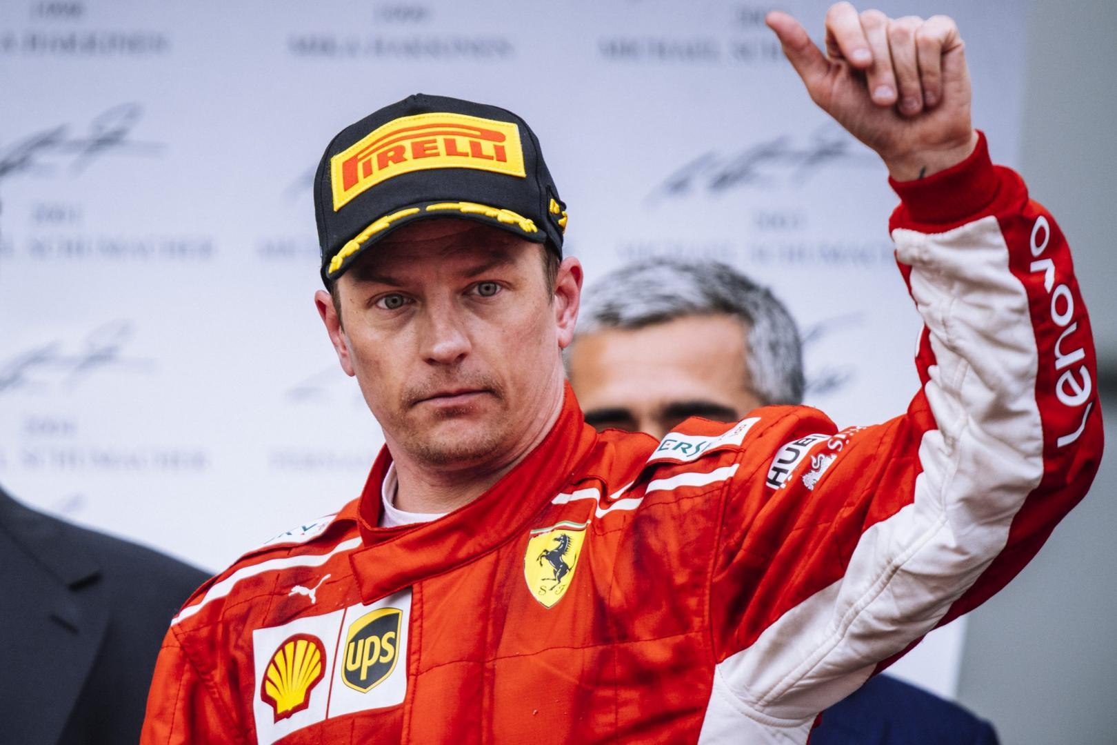 Hoe Räikkönen bijna een F1-team failliet liet gaan
