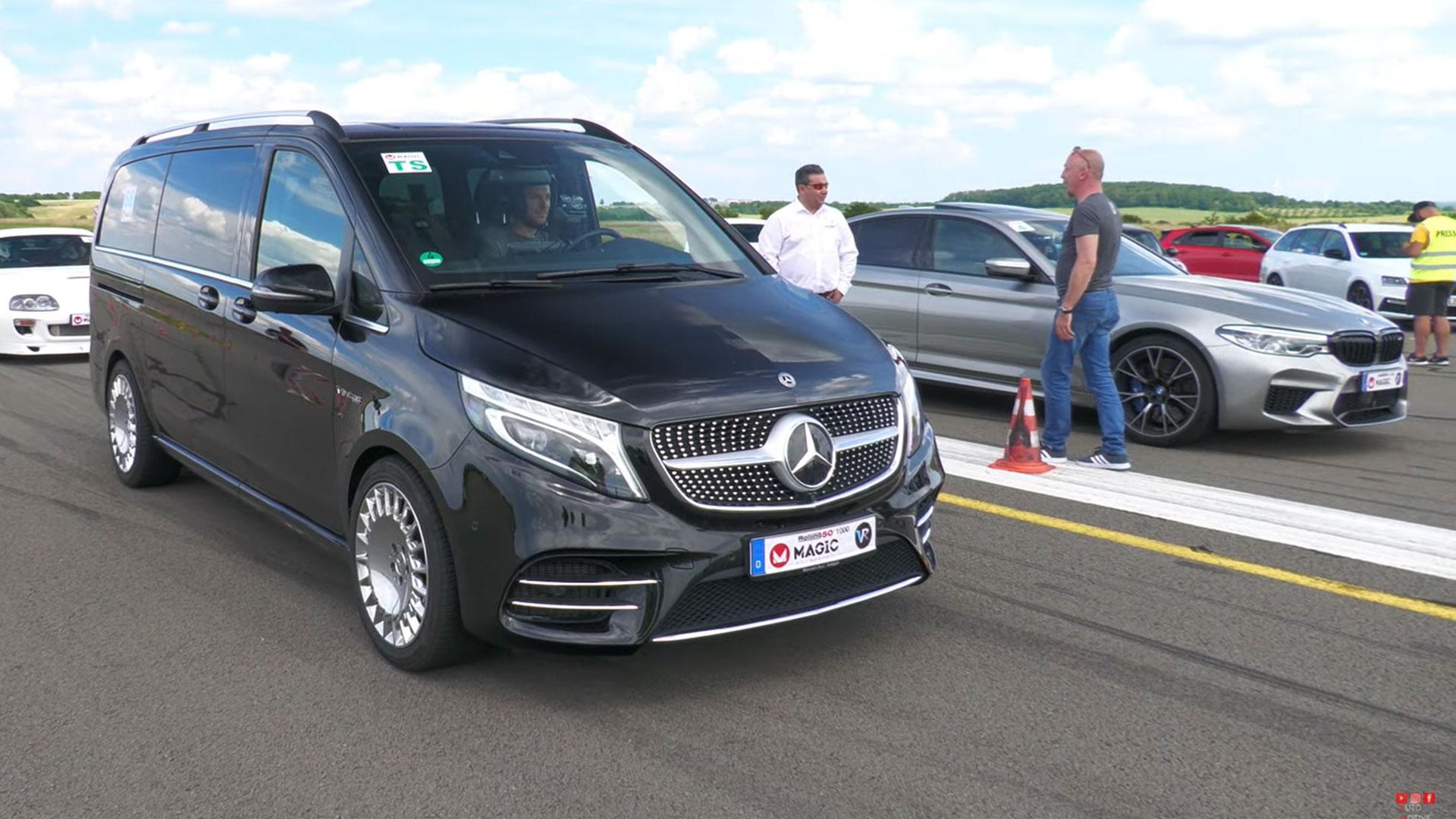 Mercedes V-klasse met 4.0 V8 van AMG