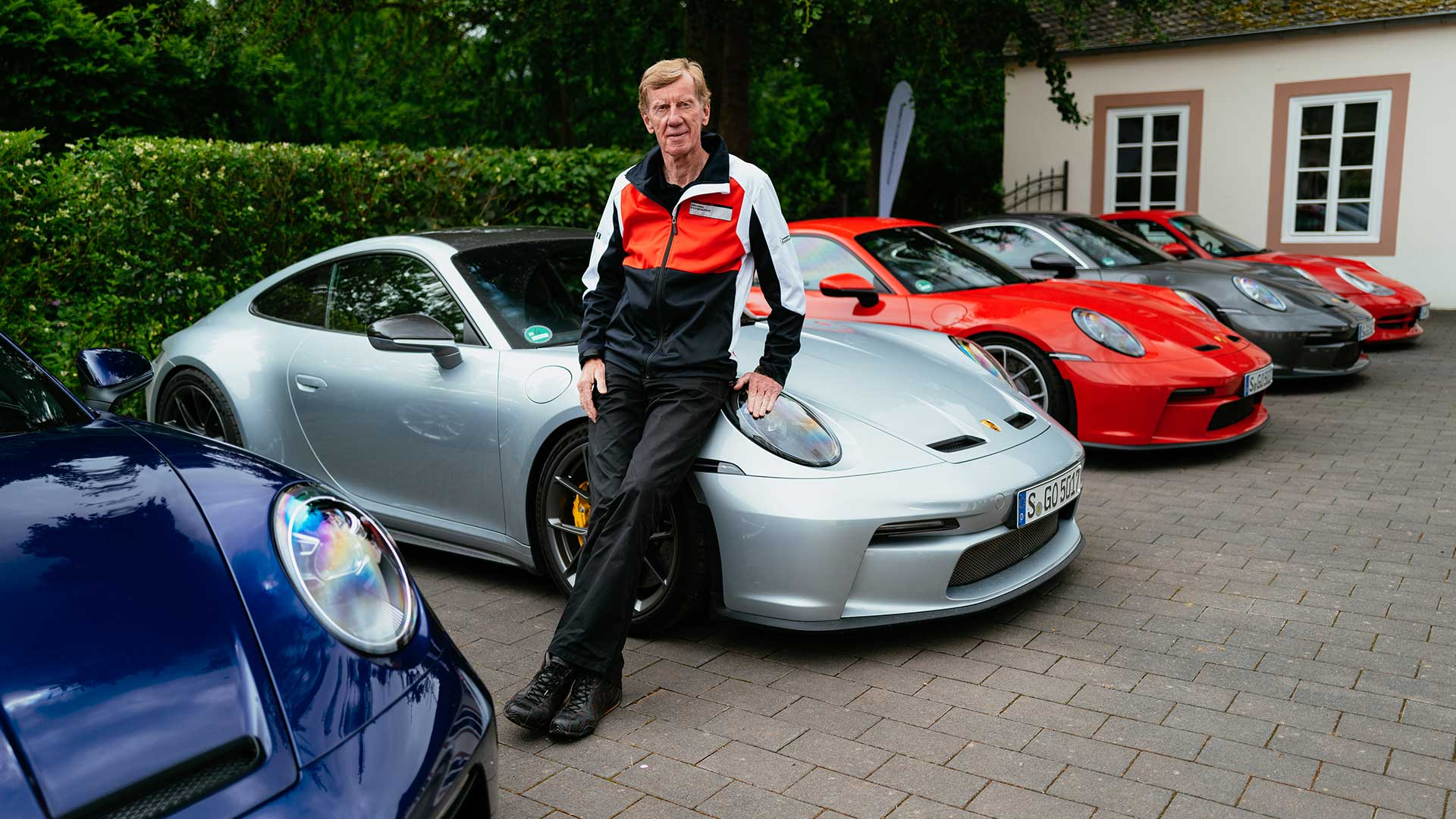 Walter Röhrl en Porsche 911 GT3 Touring (verhaal Tegen stuur duwen, niet trekken )