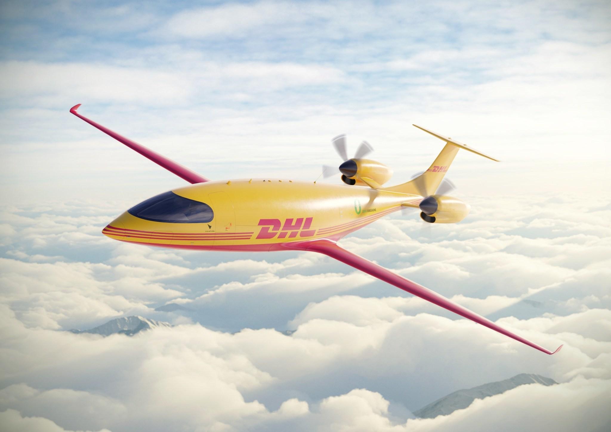 elektrische vliegtuigen DHL