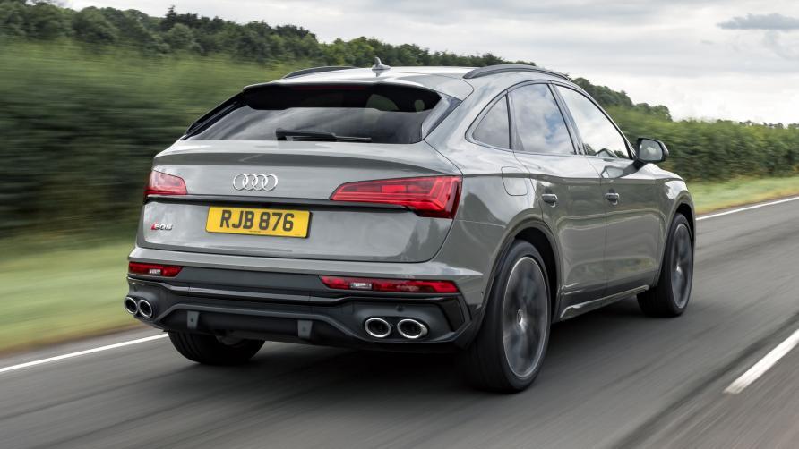 Audi SQ5 ergste neppe uitlaten
