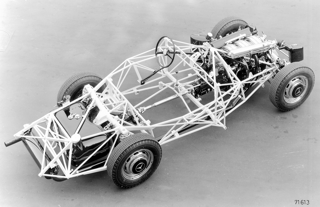 Mercedes 300SL Chassis