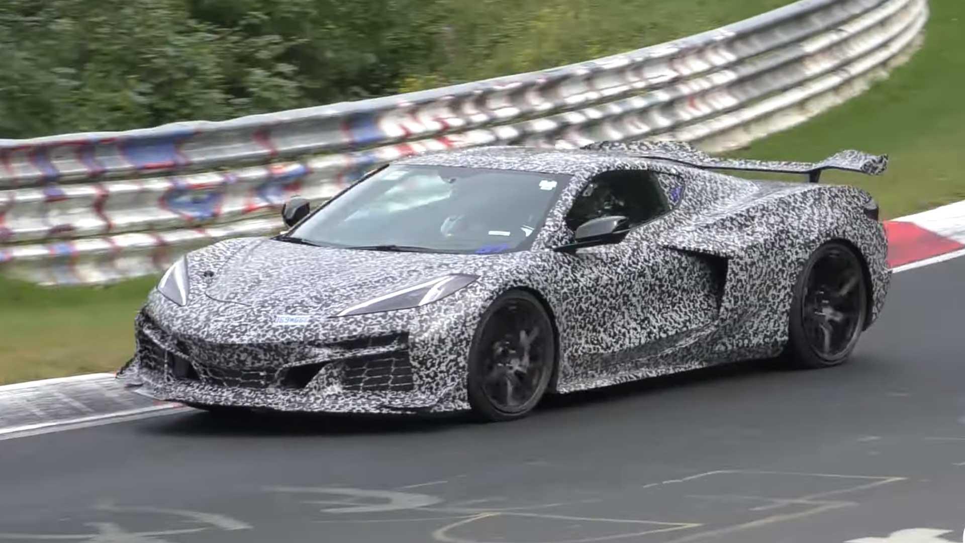 Corvette Z06 laat zich horen op de Nürburgring