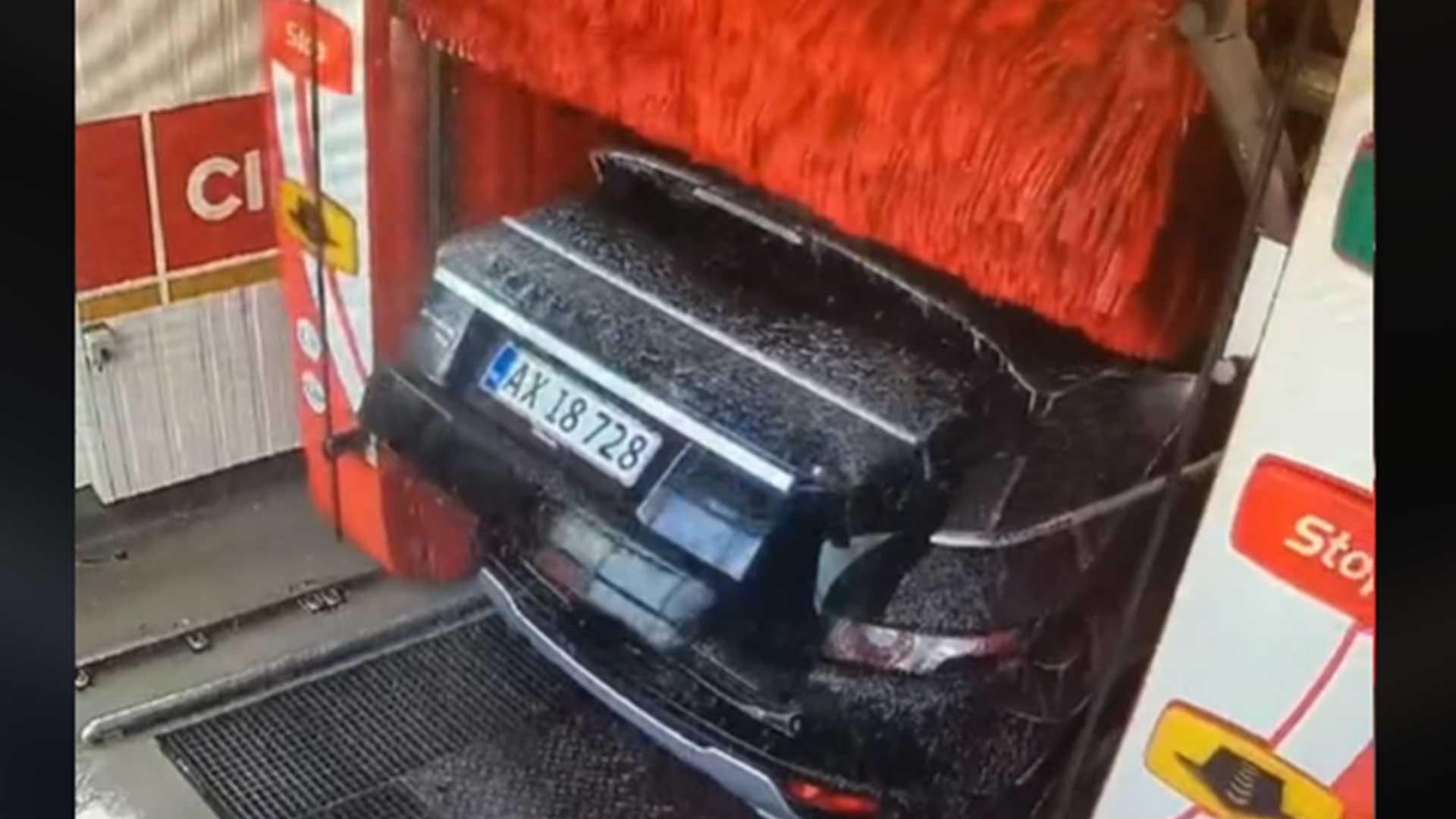 Land Rover Evoque Carwash Achterklep