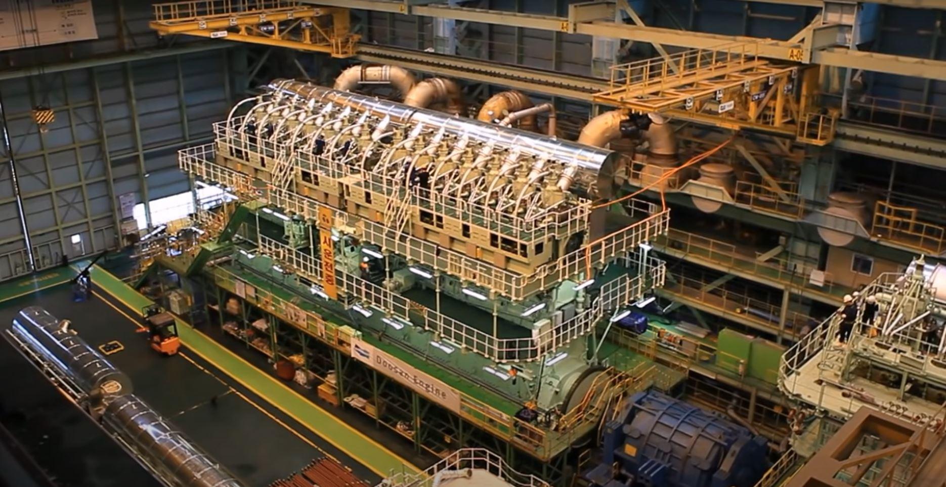 Dit is de grootste motor ter wereld