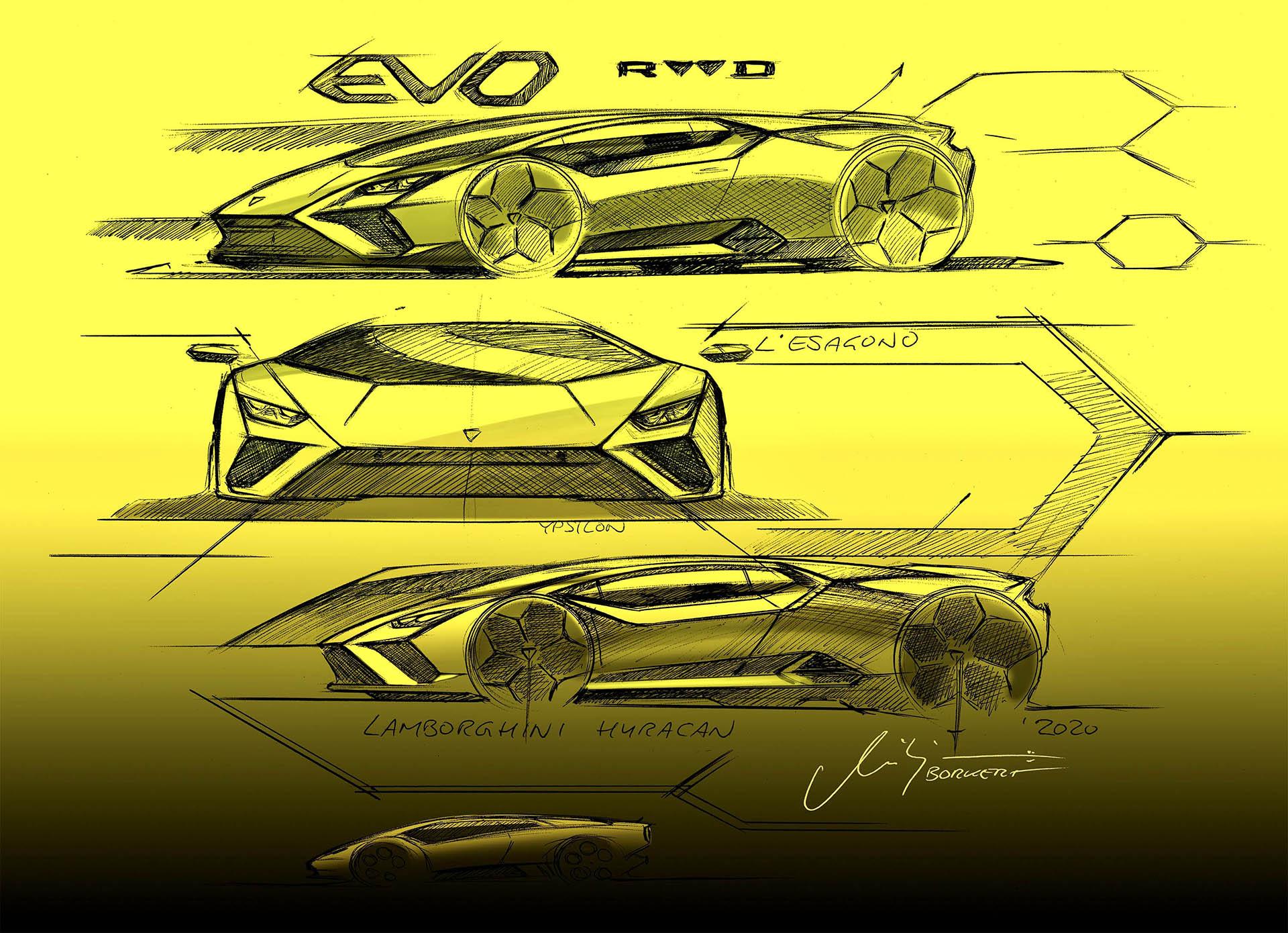 Geschiedenis van Lamborghini - Huracan design