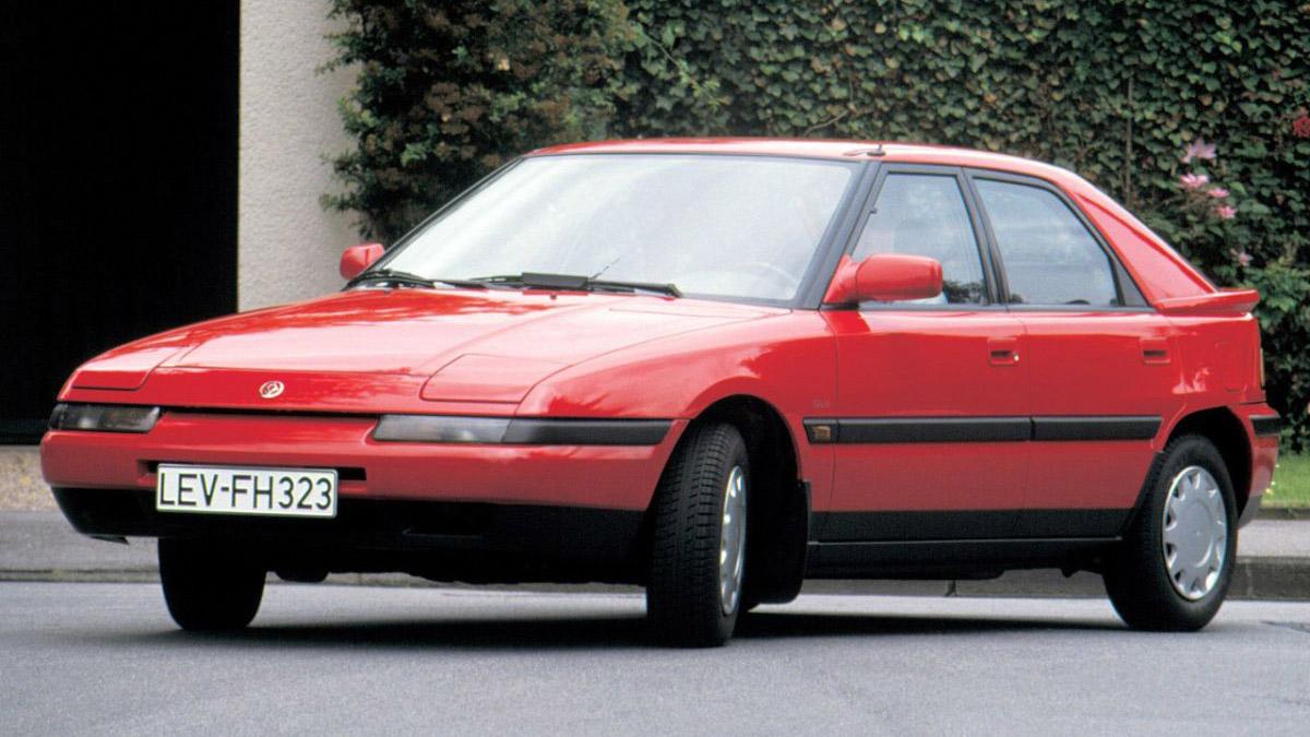 '90s klassiekers: Mazda 323F