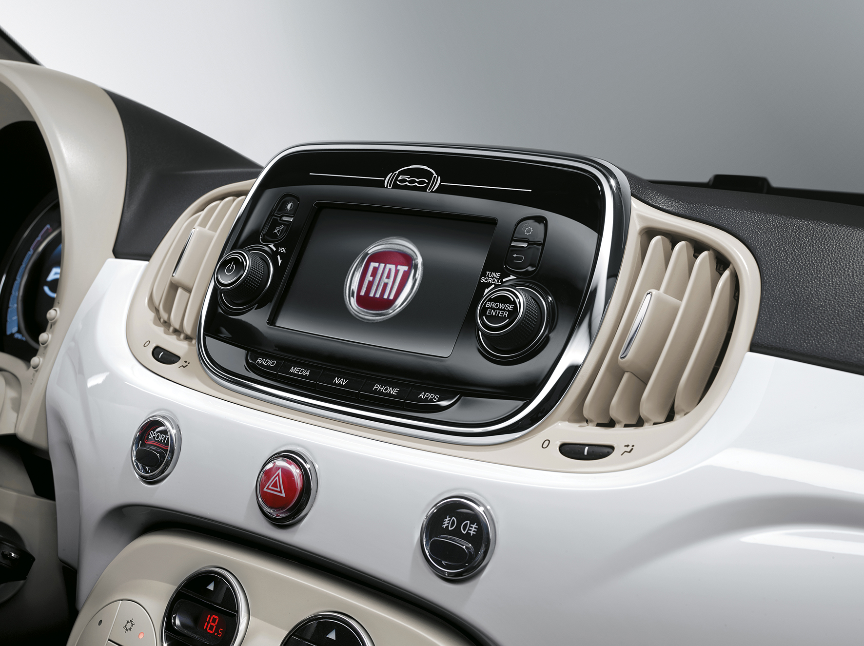 fiat 500 twinair turbo 80 lounge autotest en specificaties bij de tijd. Black Bedroom Furniture Sets. Home Design Ideas