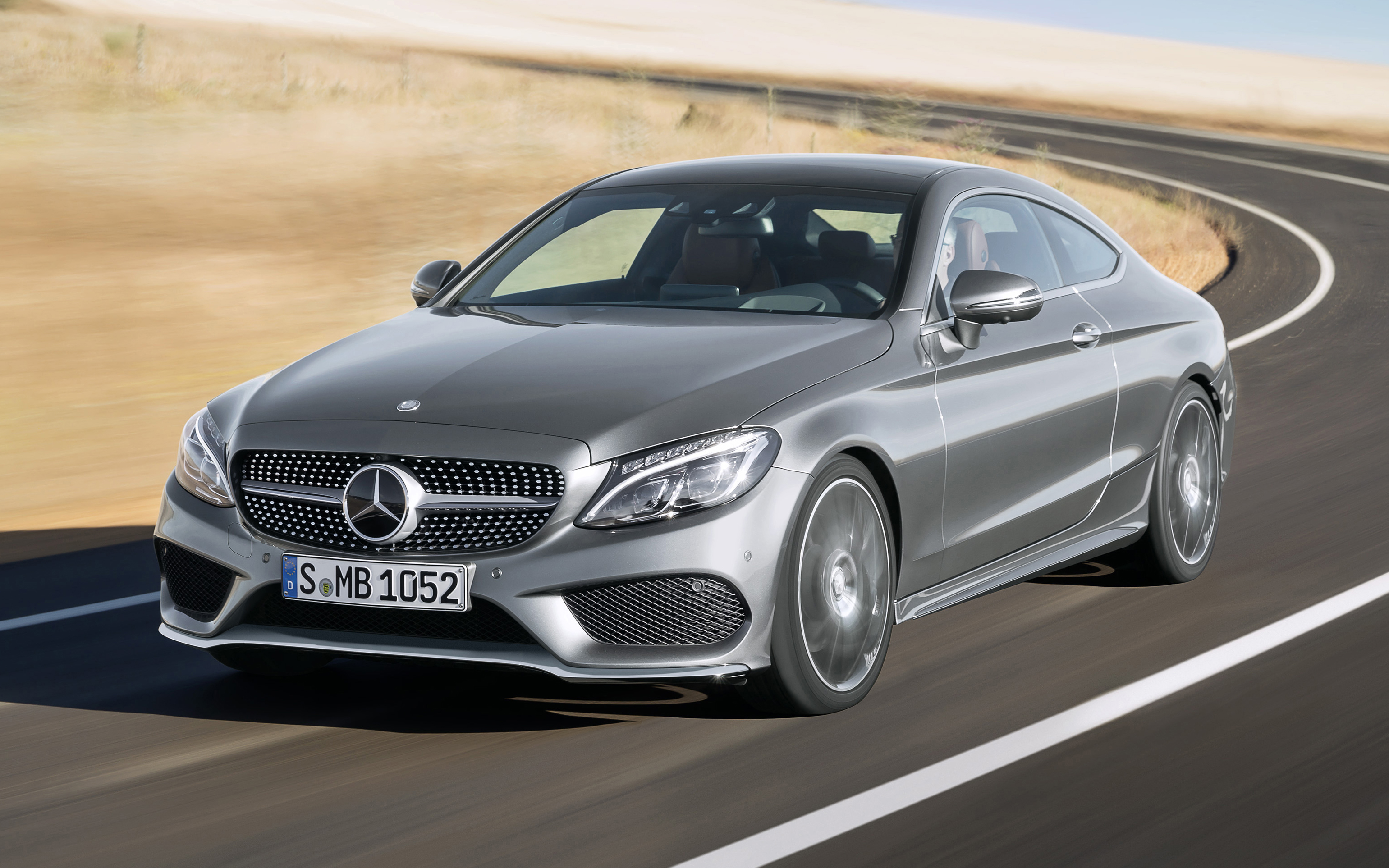 Mercedes C300 Coupe Amg Line 2016 Test Topgear