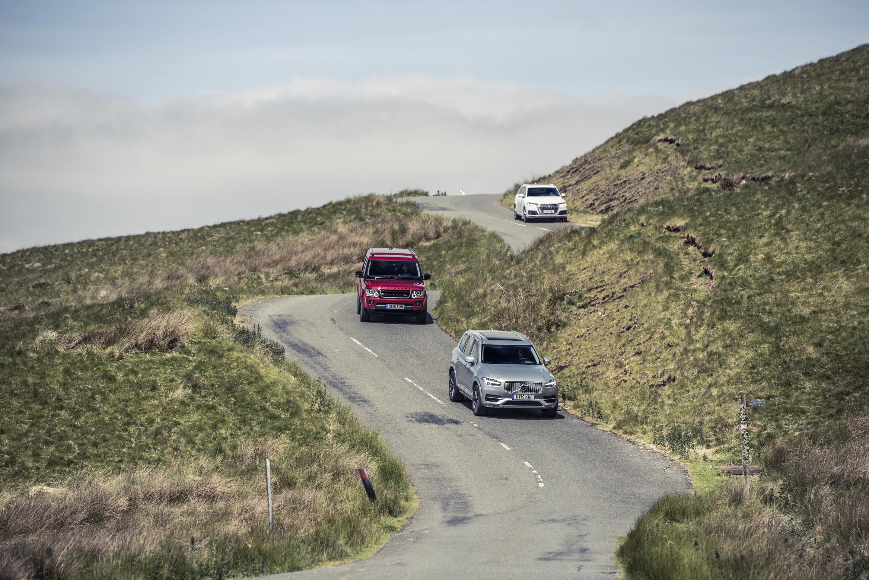 Audi Q7 vs Volvo XC90 vs Land Rover Discovery