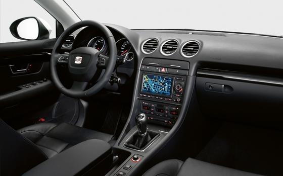 autotest seat exeo st 2 0 tdi sport topgear. Black Bedroom Furniture Sets. Home Design Ideas