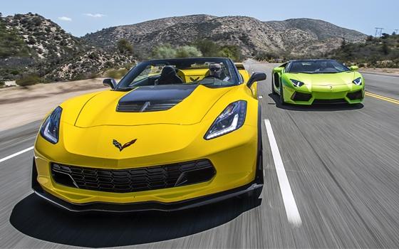 corvette z06 vs aventador roadster topgear. Black Bedroom Furniture Sets. Home Design Ideas