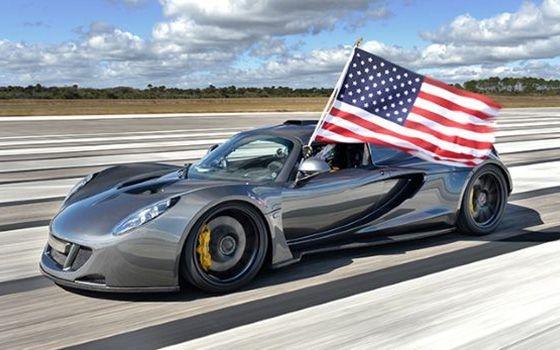 Hennessey Venom GT haalt snelheidsrecord